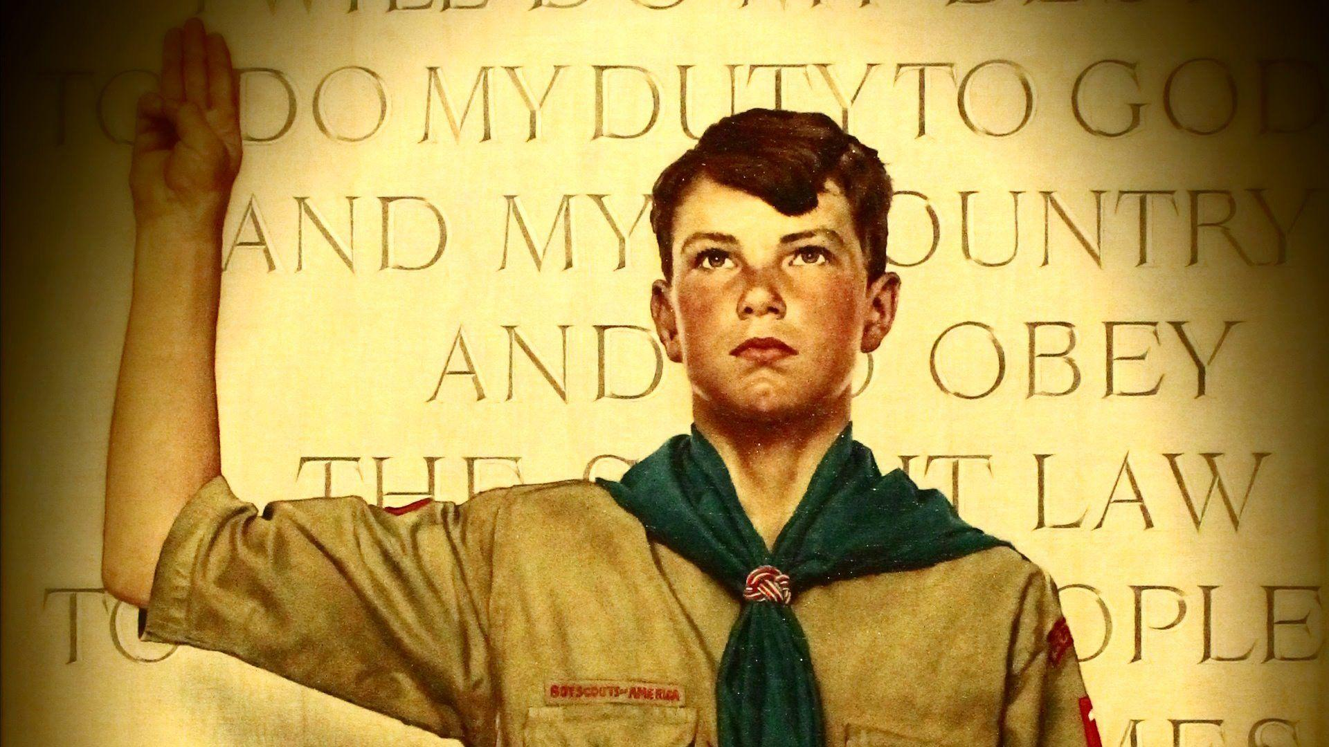 Norman Rockwell Boy Scout Paintings - WallDevil