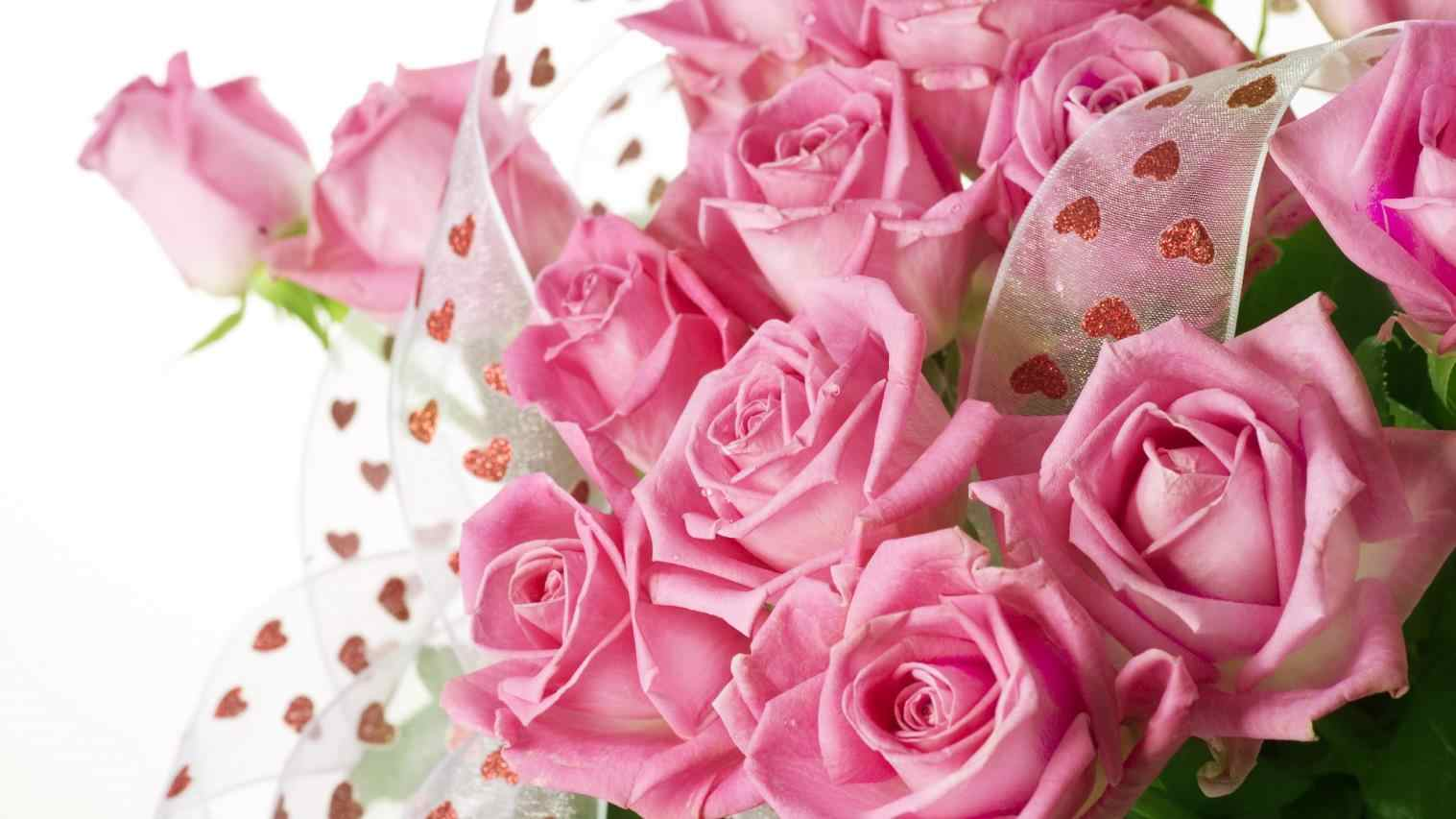 Pictures Of Pink Roses And Hearts | Urldircom