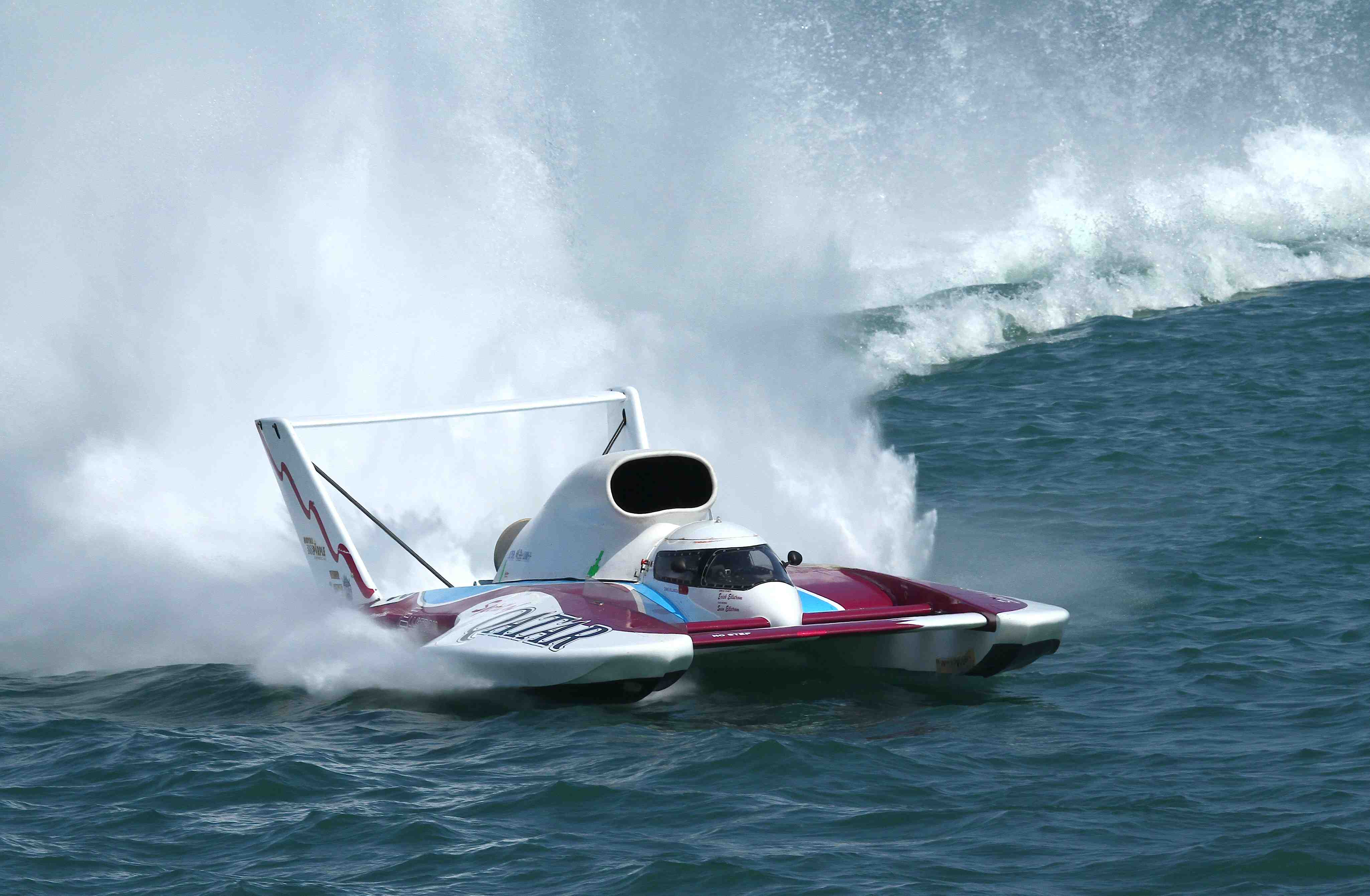 UNLIMITED-HYDROPLANE race racing jet hydroplane boat ship hot rod ...