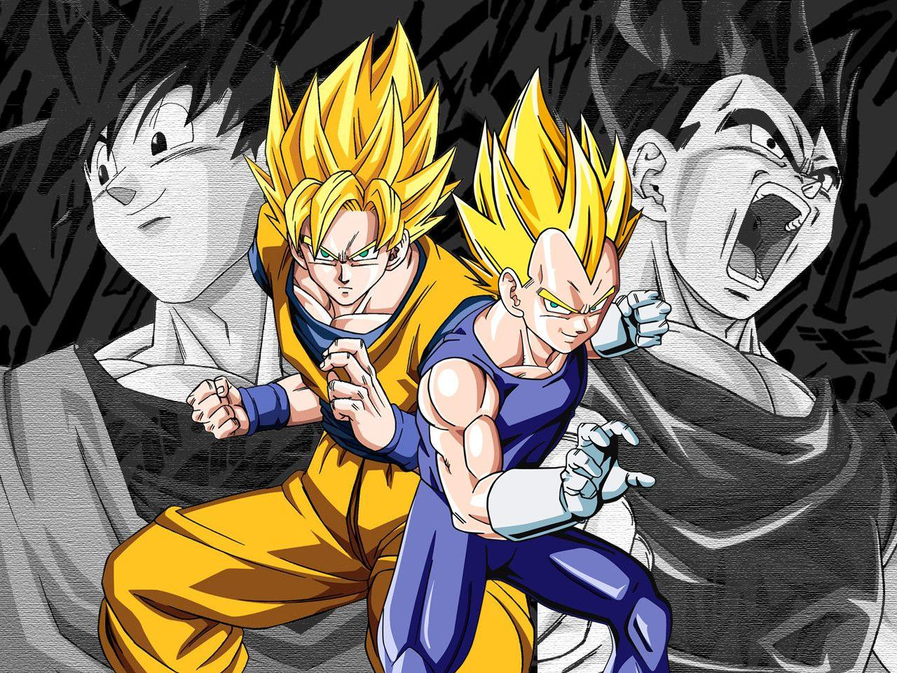 Vegeta And Goku Wallpaper