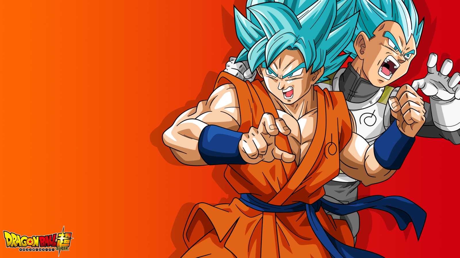 4K Dragonball Super Wallpaper (Goku and Vegeta) by RayzorBlade189 ...
