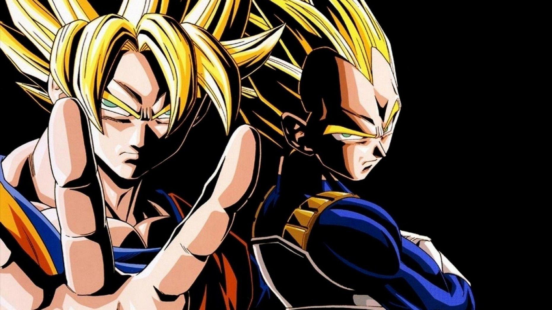 Black Goku Fondo De Pantalla And Fondo De Escritorio: Goku Vegeta Wallpapers