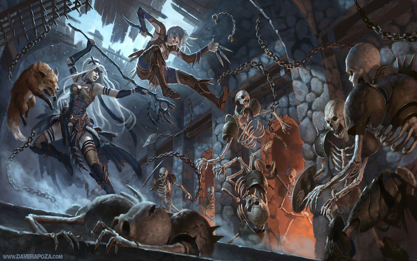35 Dungeons & Dragons HD Wallpapers | Backgrounds - Wallpaper Abyss