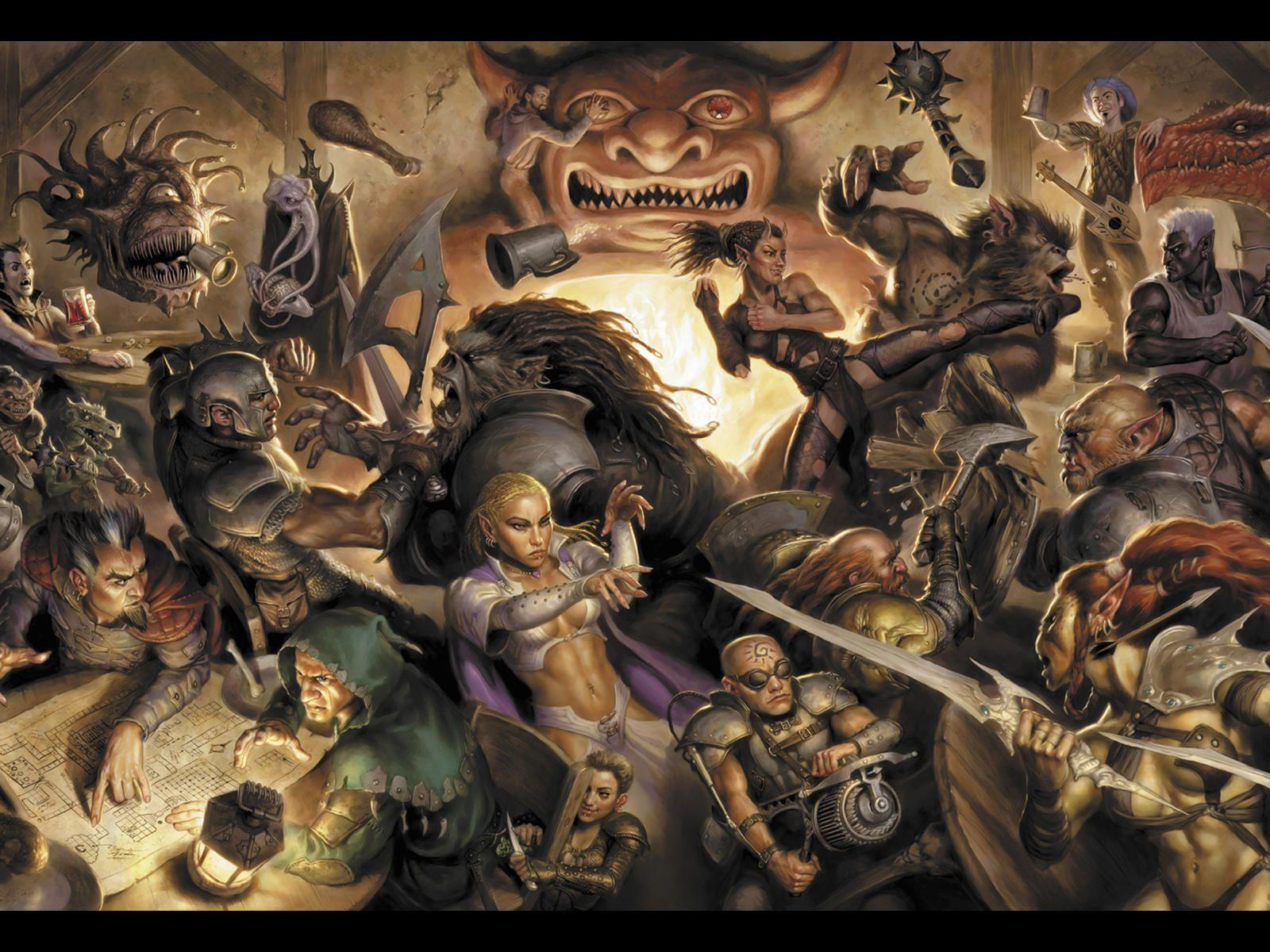 Awesome Dungeons And Dragons Wallpaper | Dungeons And Dragons ...
