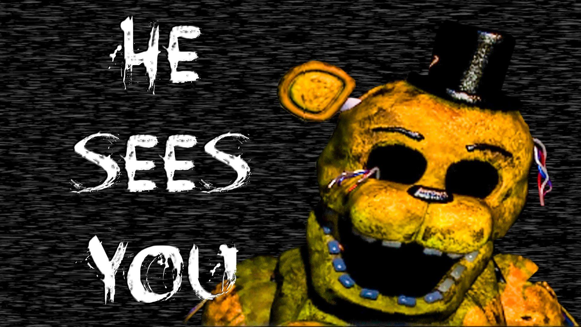 Golden Freddy Scary Wallpapers