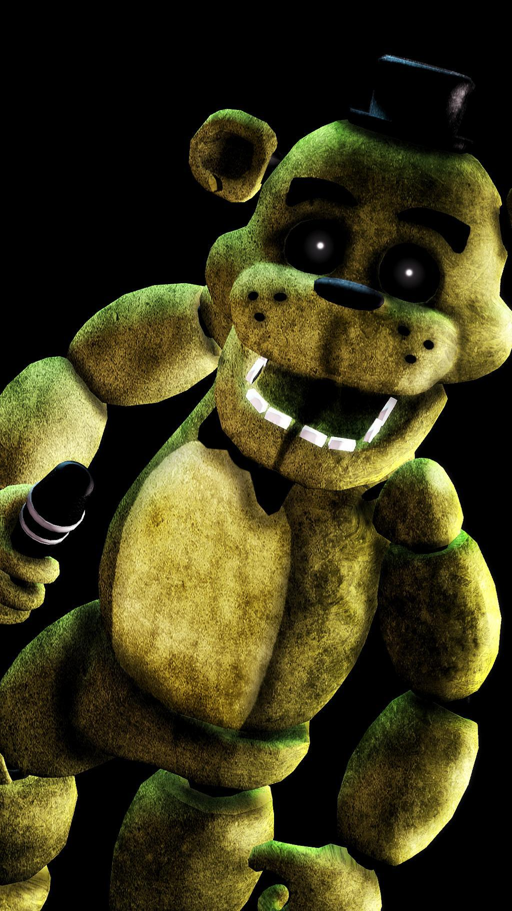 Download Golden Freddy wallpapers to your cell phone - faz five ...