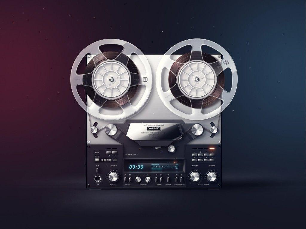 Daily Freebie: Open Reel Tape Recorder Wallpapers