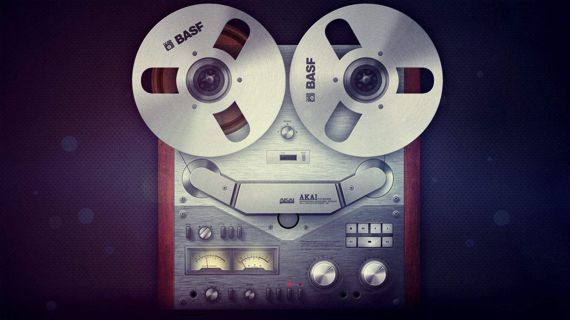 Cassette Music Recorder Tape Recorders Tapes - WallDevil