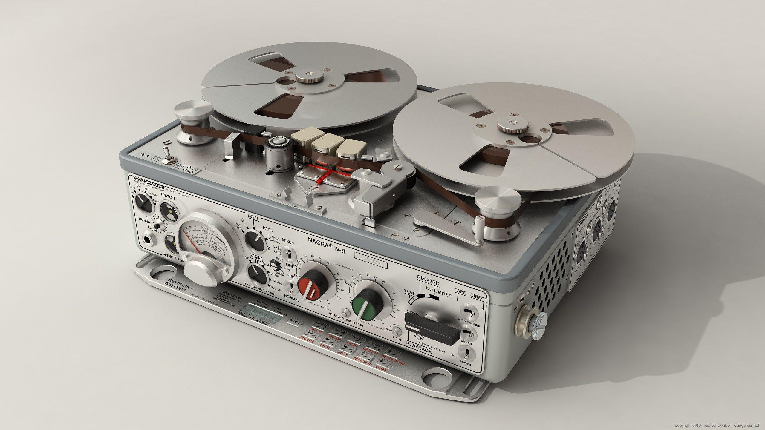Recorder, tape recorders, reel to reel :: Wallpapers
