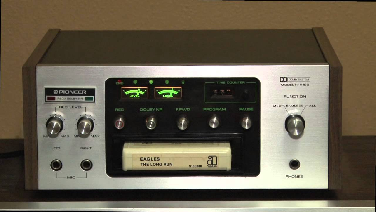 Pioneer H-R100 Stereo 8 Track Player/Recorder Tape Deck - October ...
