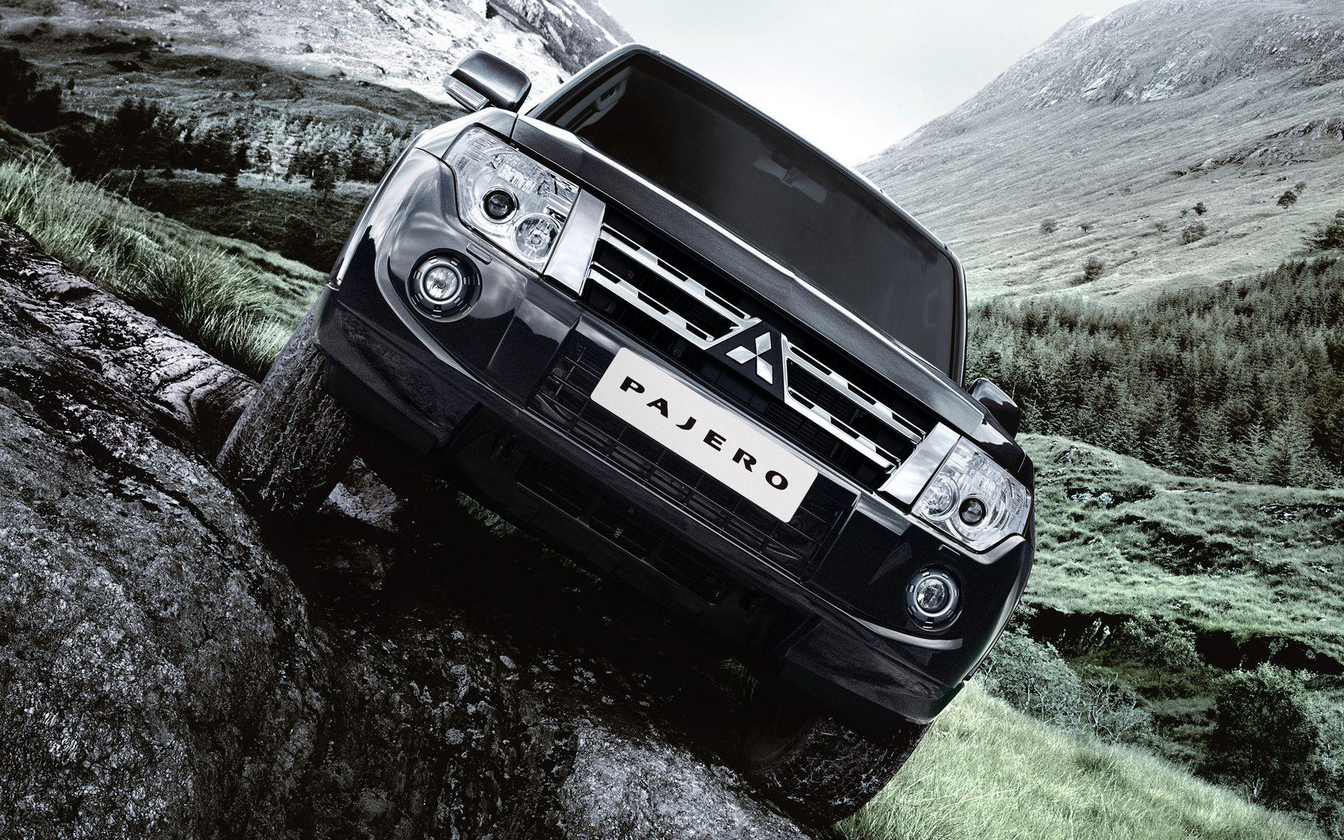 Merveilleux Cars: Mitsubishi Pajero, Desktop Wallpaper Nr. 61812 By Antigesha