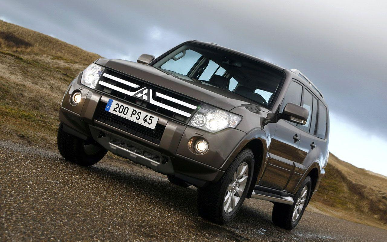 Mitsubishi Pajero Wallpapers and Car Specifications