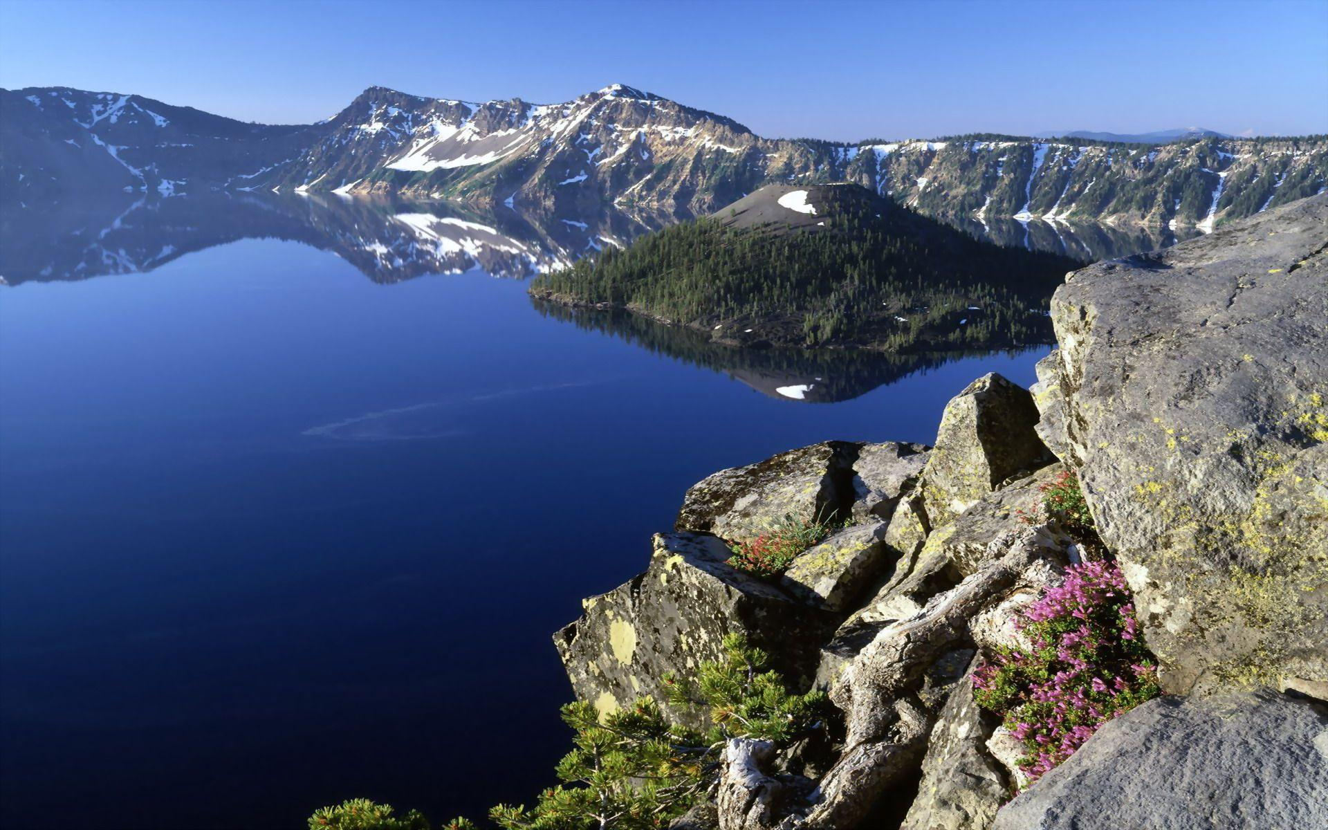 Crater Lake Wallpaper - WallpaperSafari
