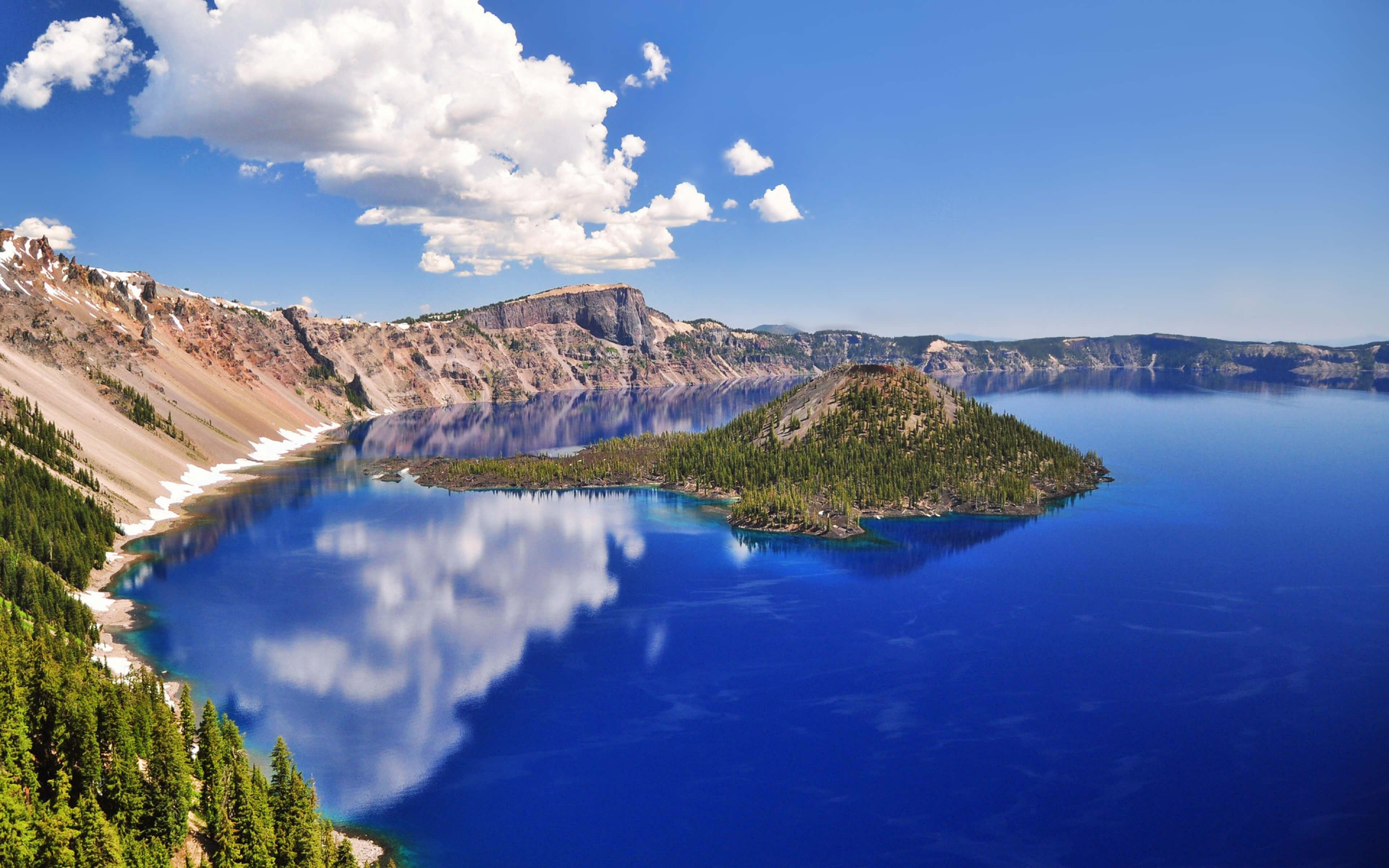Crater Lake National Park, Oregon, United States UHD 4k Wallpaper ...