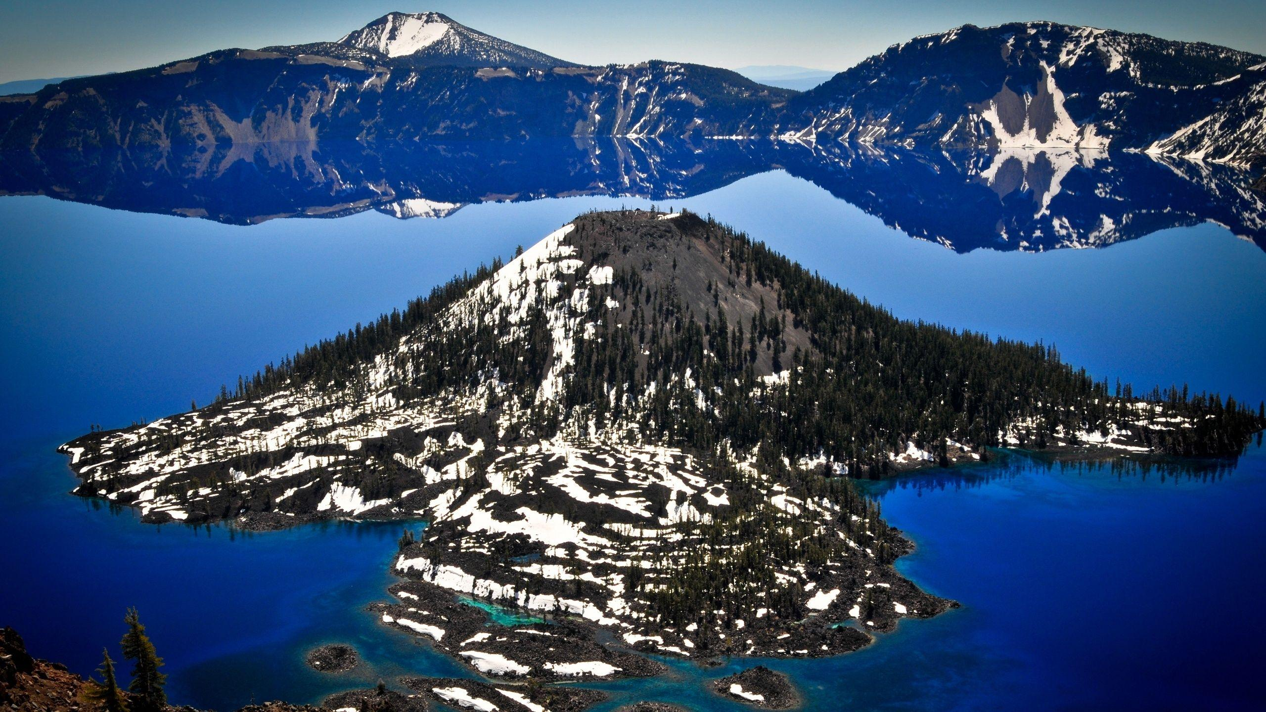 Crater Lake National Park Wallpapers - 2560x1440 - 1434341