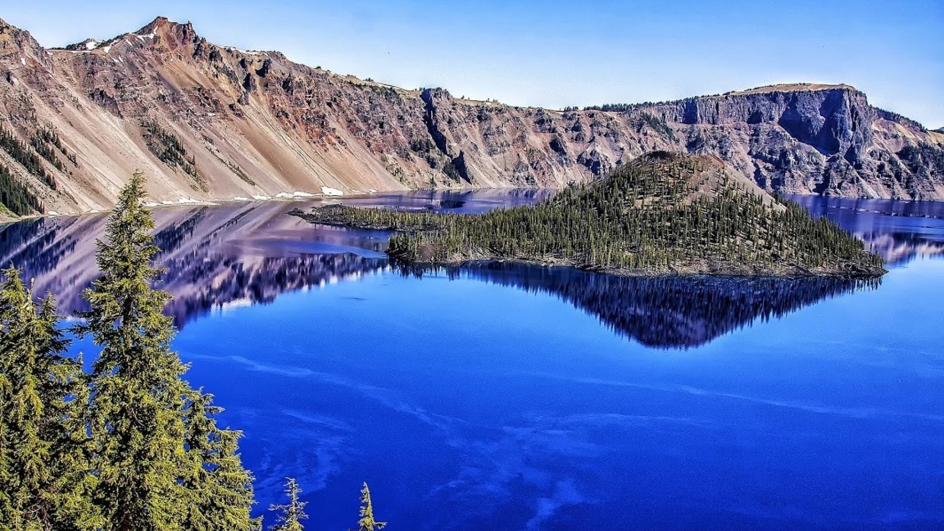 Crater Lake National Park Wallpaper - WallpaperSafari