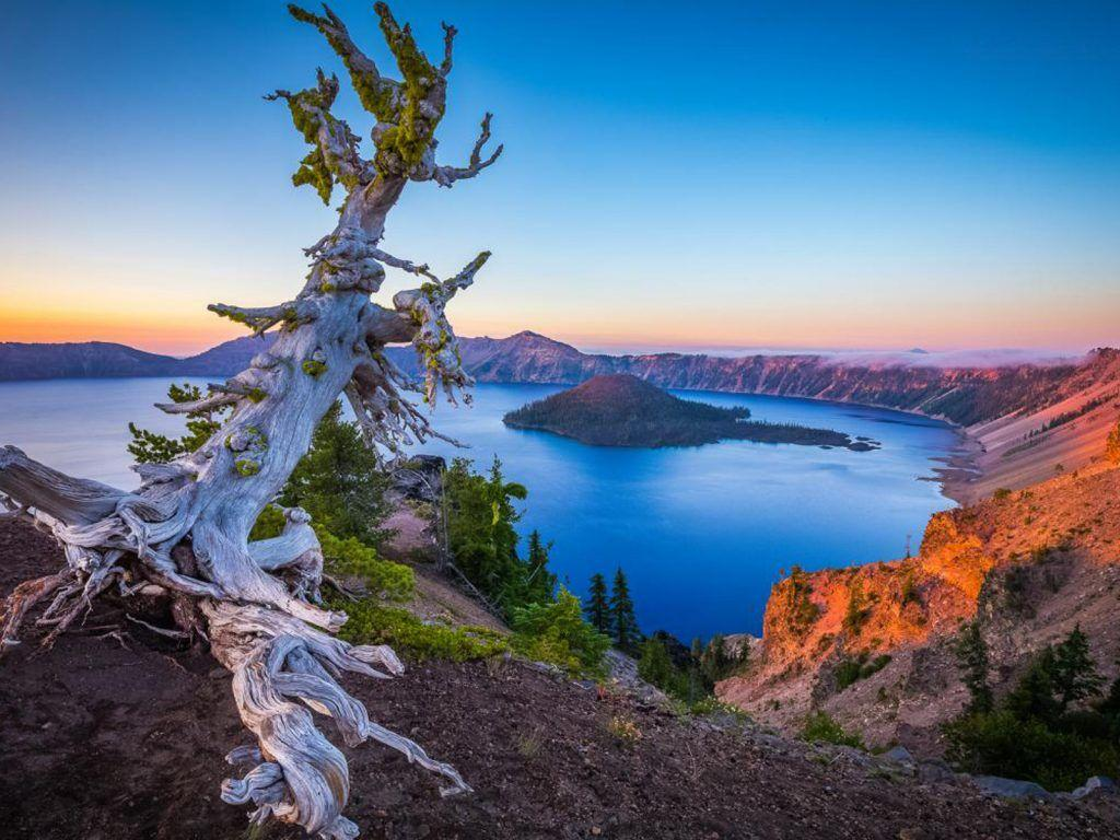 Crater Lake National Park Oregon Usa Desktop Hd Wallpaper ...
