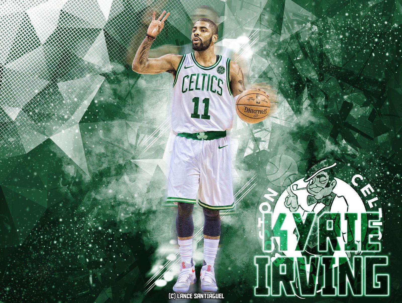 Kyrie Irving to Boston Celtics Fan Art by Lancetastic27 on DeviantArt