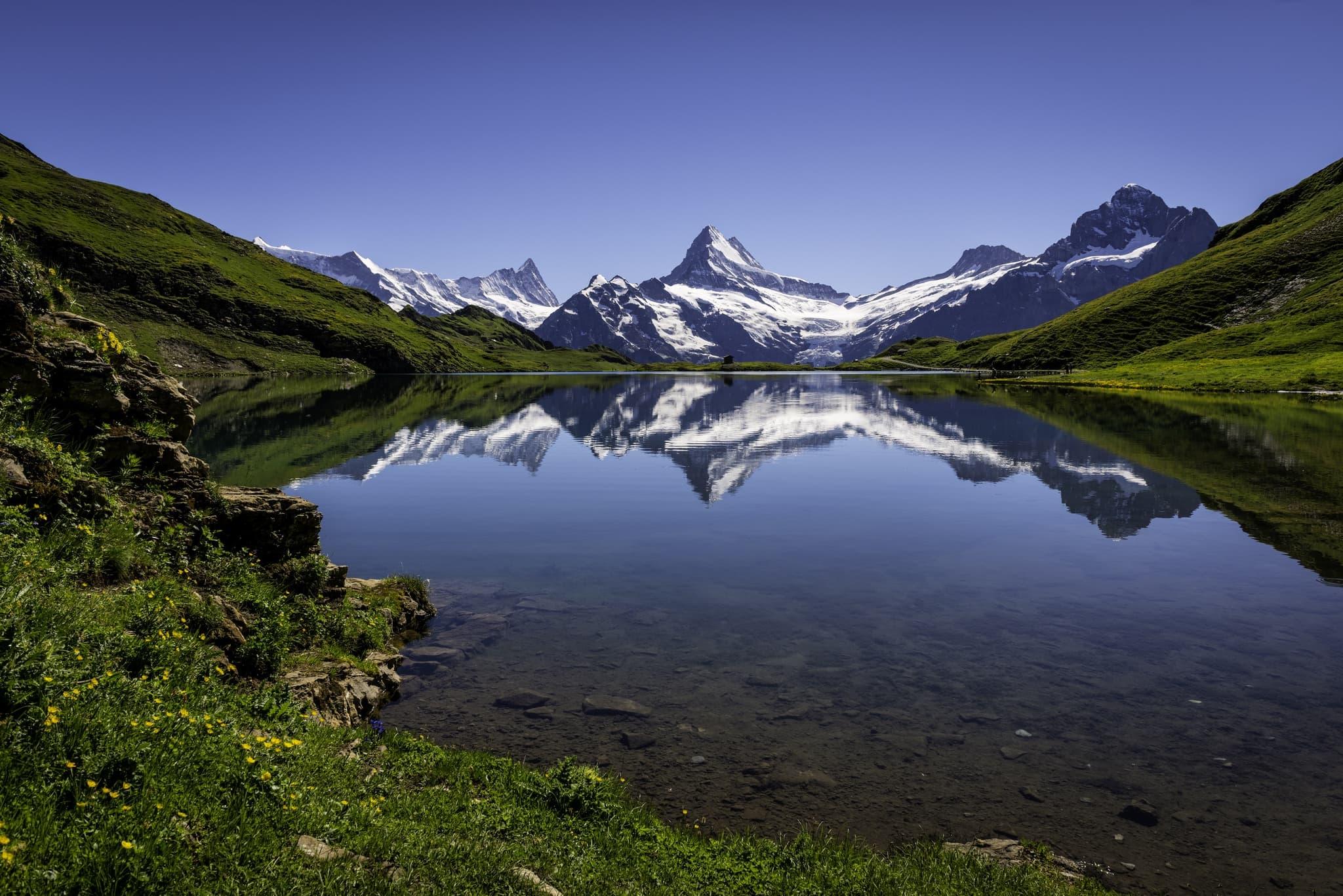 Switzerland Mountain Eiger Wallpapers Hd