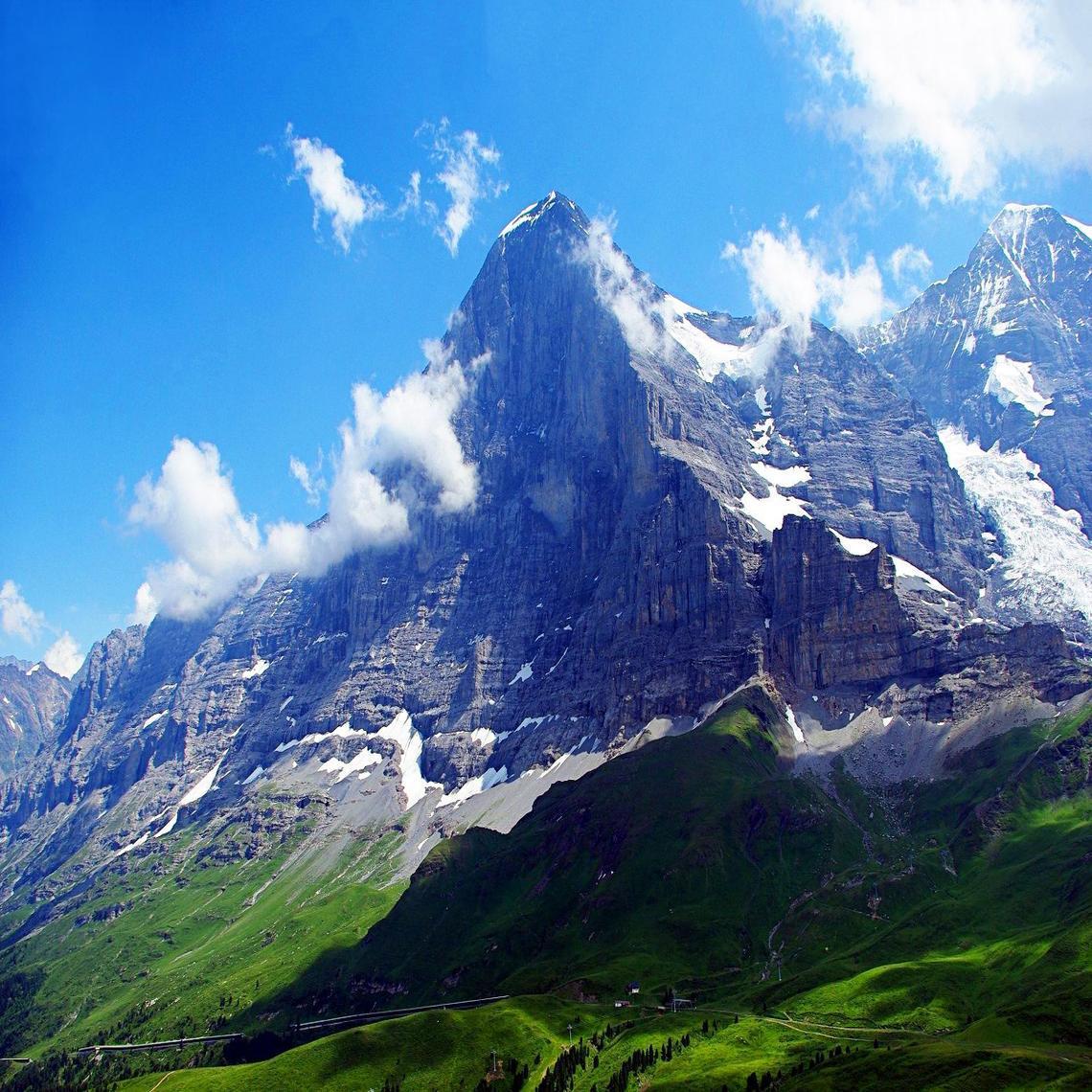 Mount Hd Wallpaper: Eiger Wallpapers