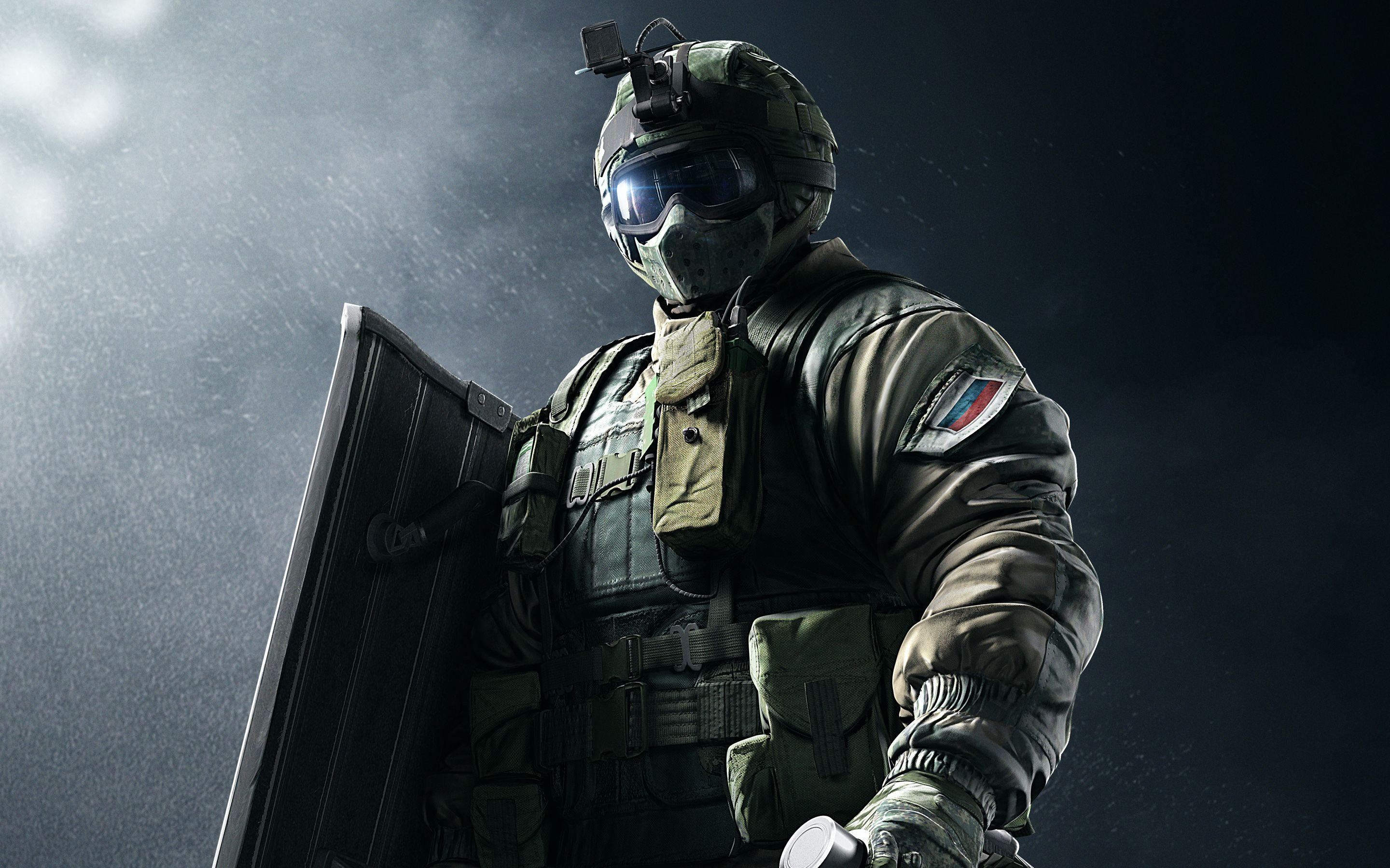 Rainbow Six Siege SPETSNAZ Fuze 5K Wallpapers