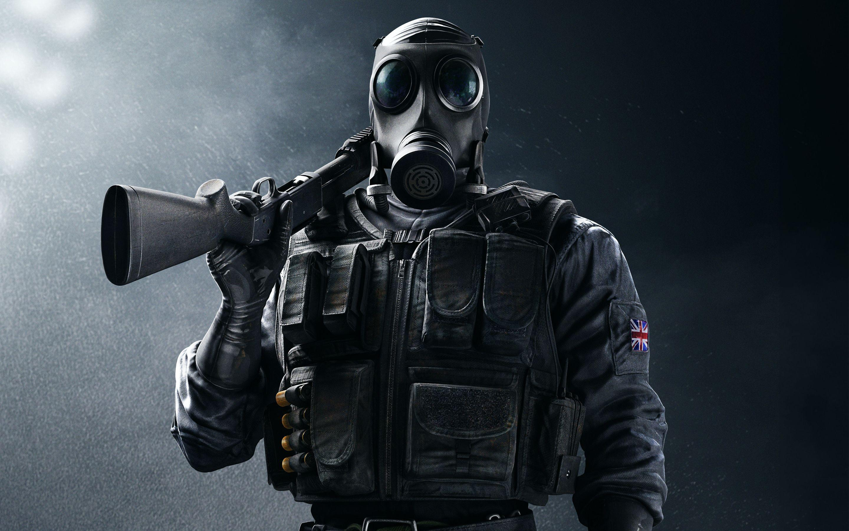 Rainbow Six Siege SAS Smoke 5K Wallpapers