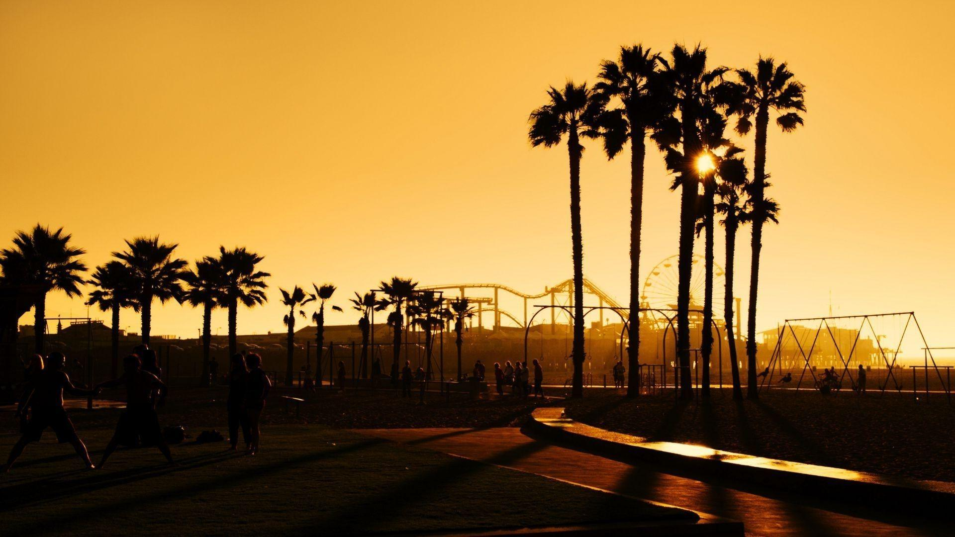 Santa Monica Wallpapers Wallpaper Cave