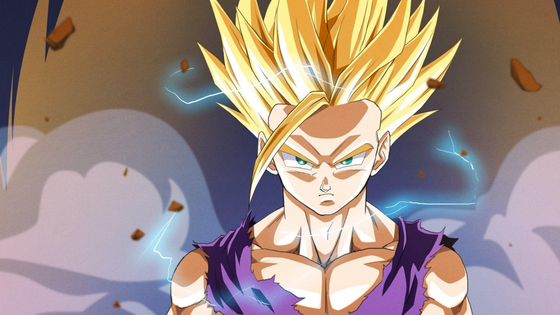 Kid Gohan Wallpapers Wallpaper Cave