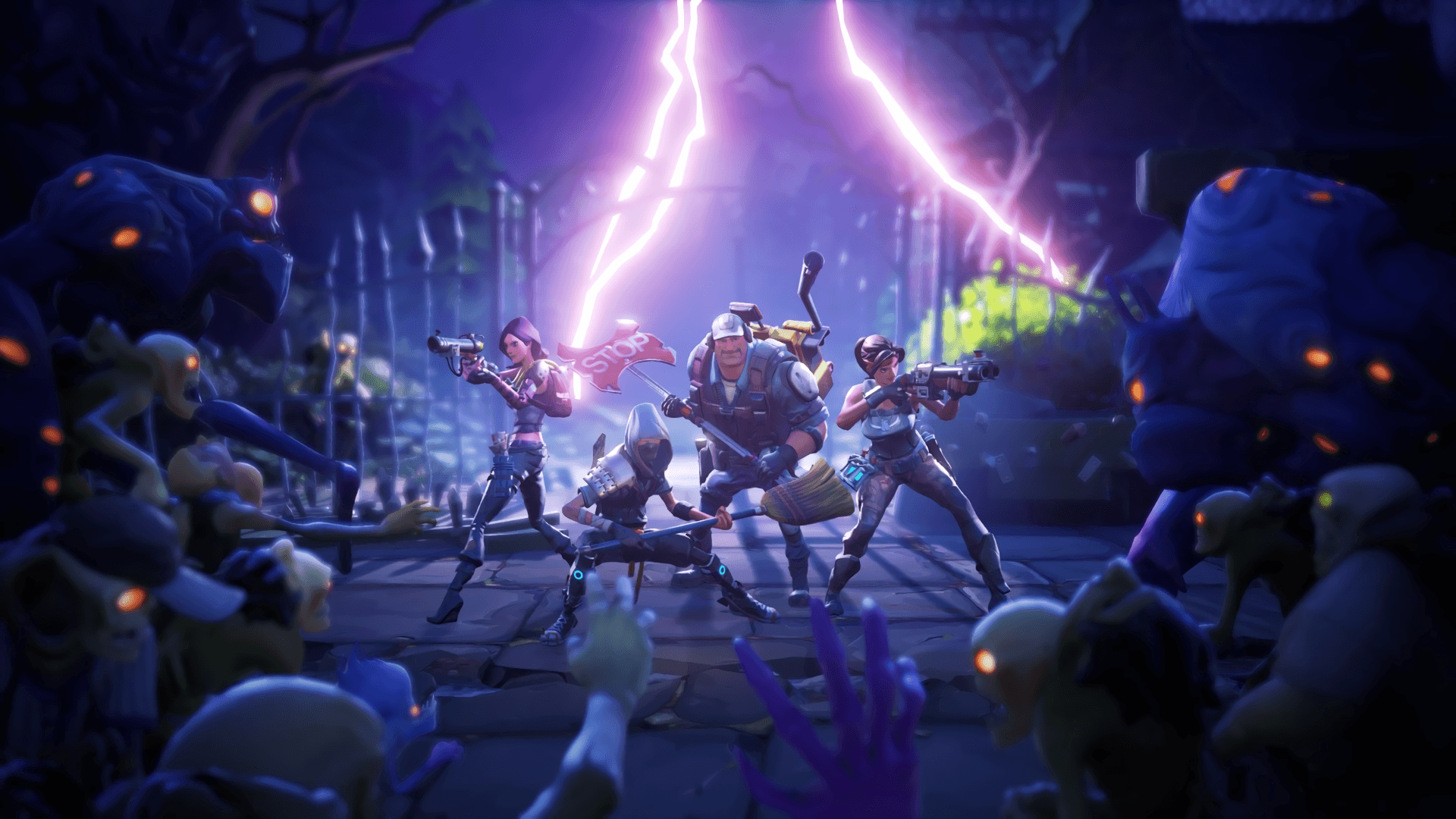 16 Fortnite HD Wallpapers | Backgrounds - Wallpaper Abyss