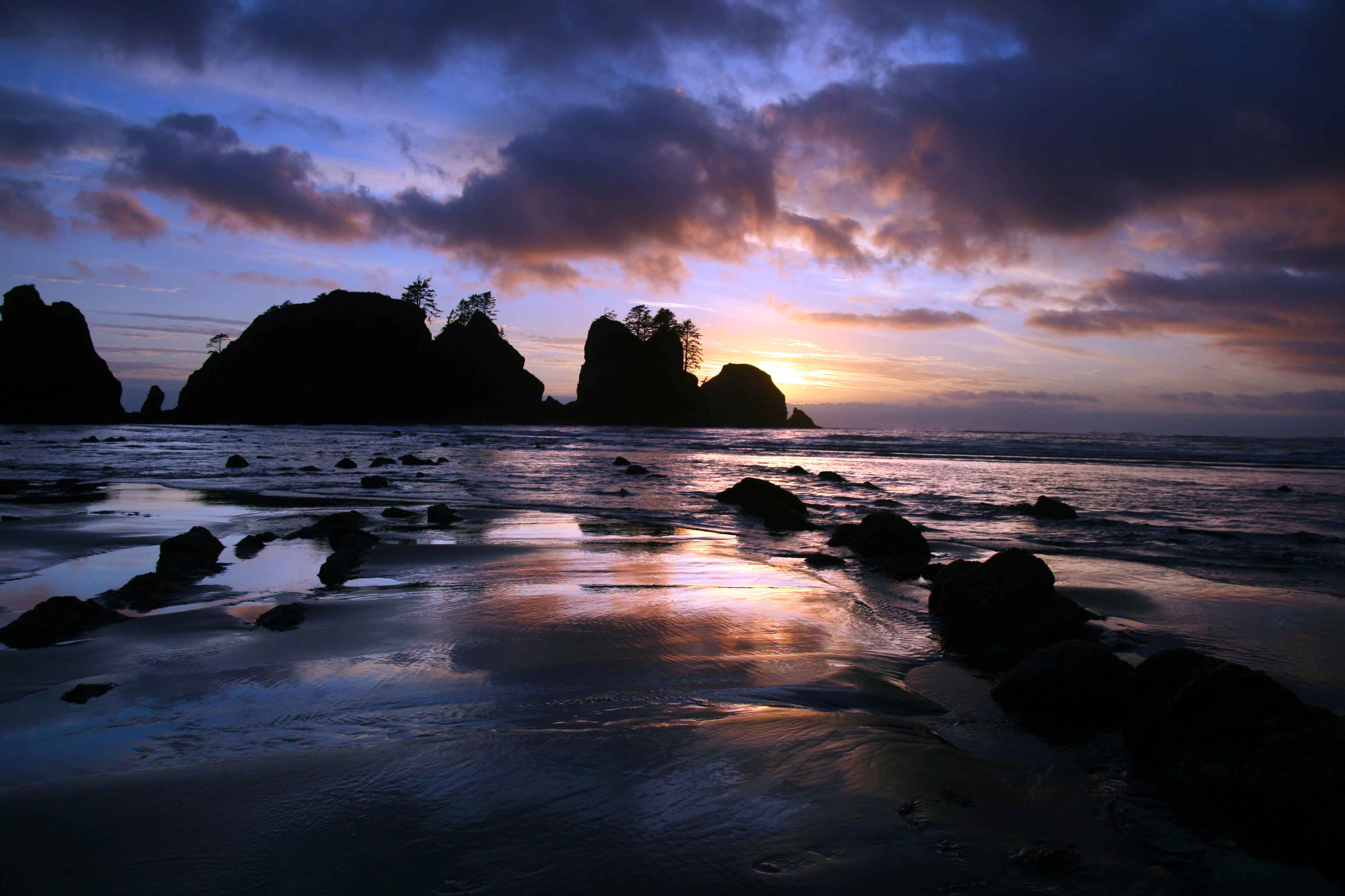 Olympic National Park Nature Parks