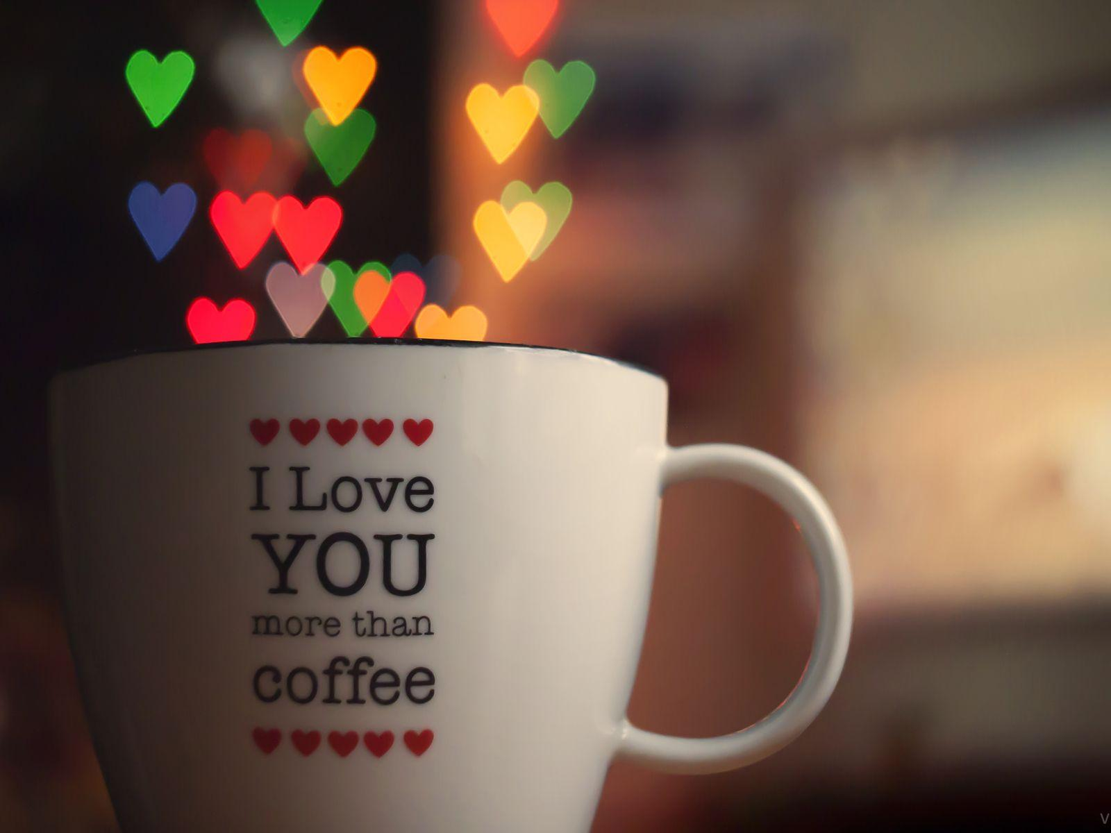 Coffee Love Quotes   Wallpaper.