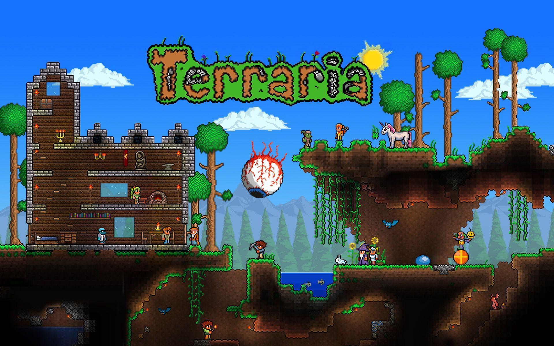 Terraria Wallpaper Hd