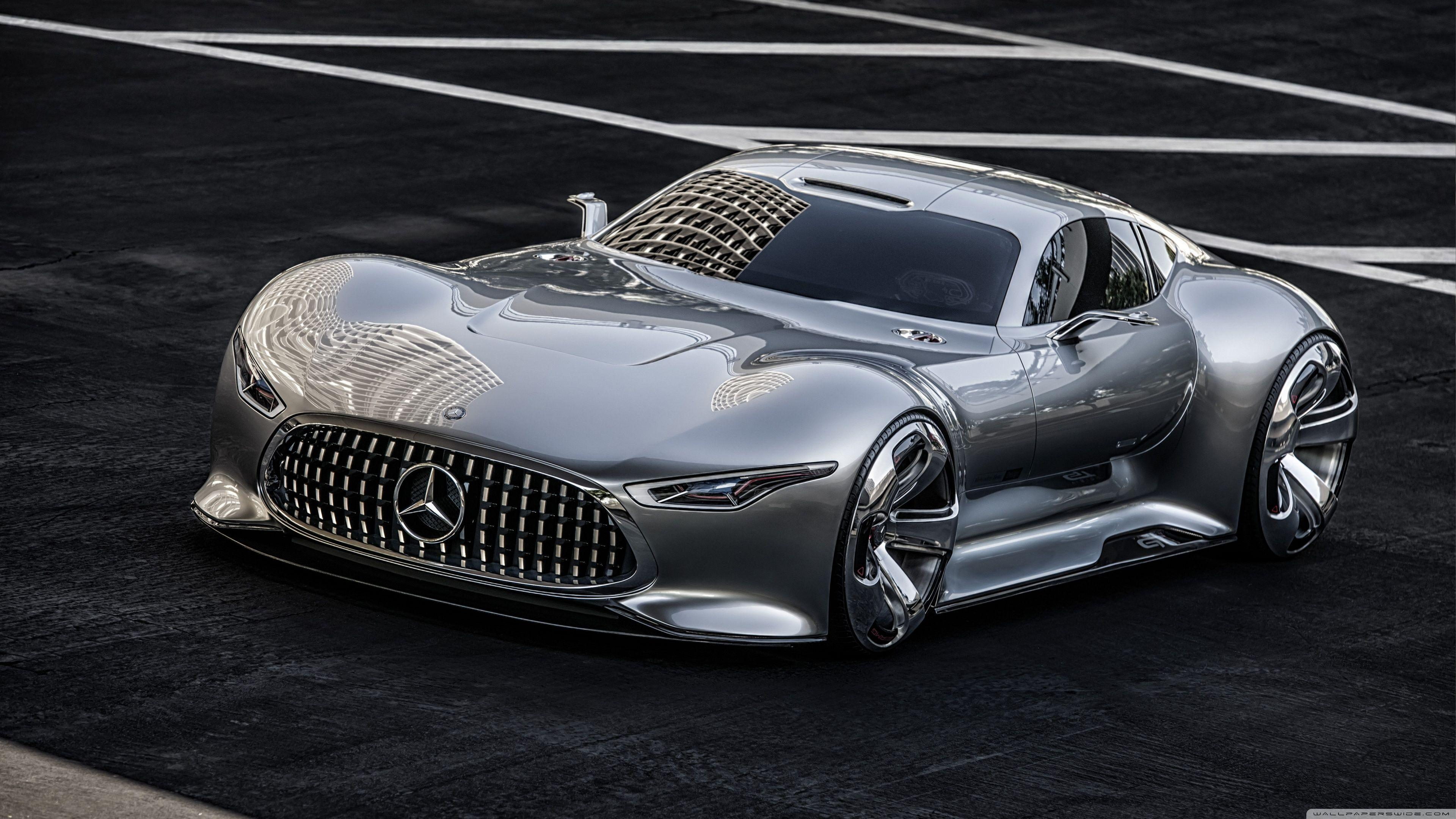 Mercedes Benz AMG Vision Supercar HD desktop wallpapers