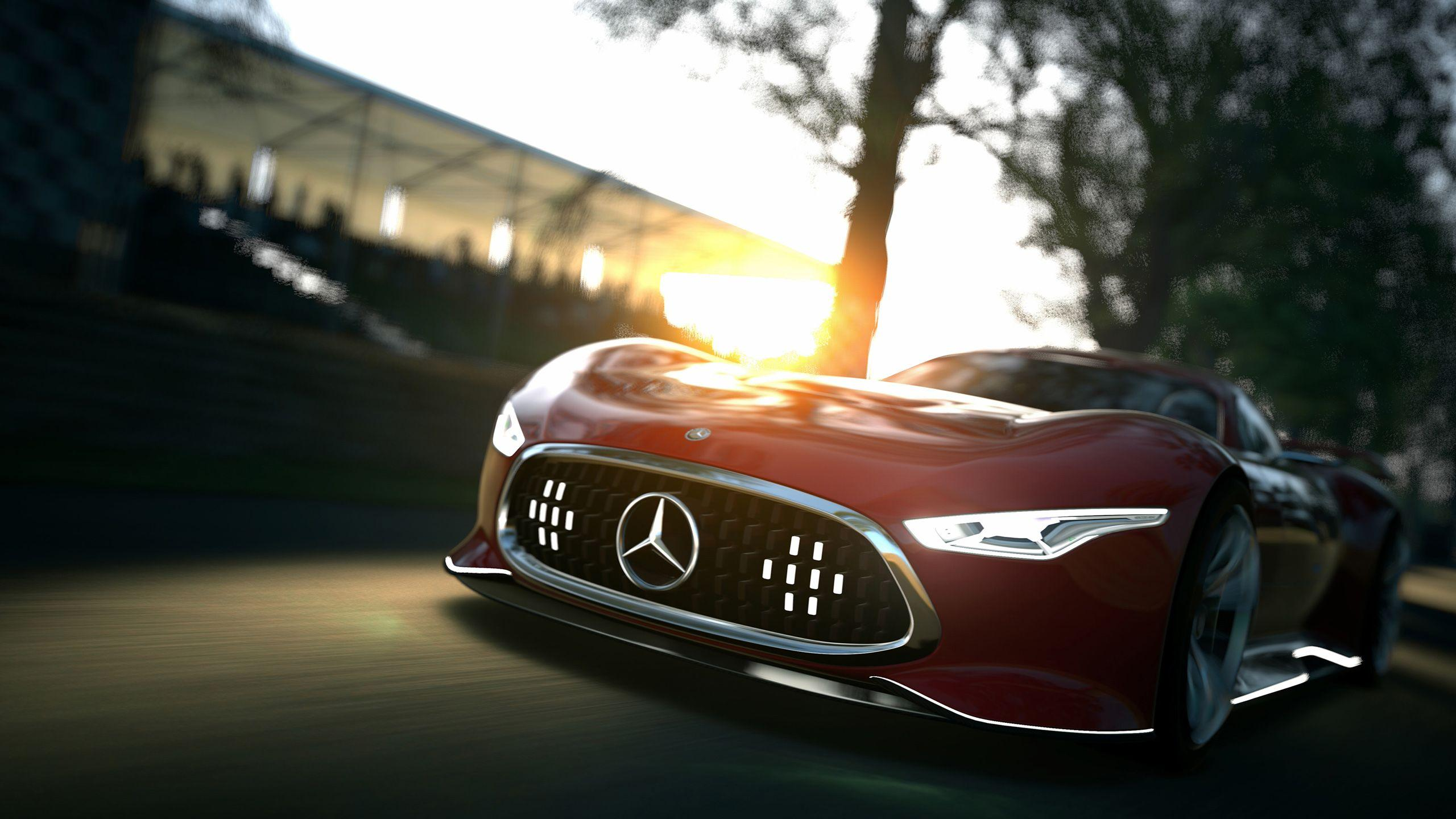 Mercedes Benz AMG Vision Gran Turismo Concept Wallpapers