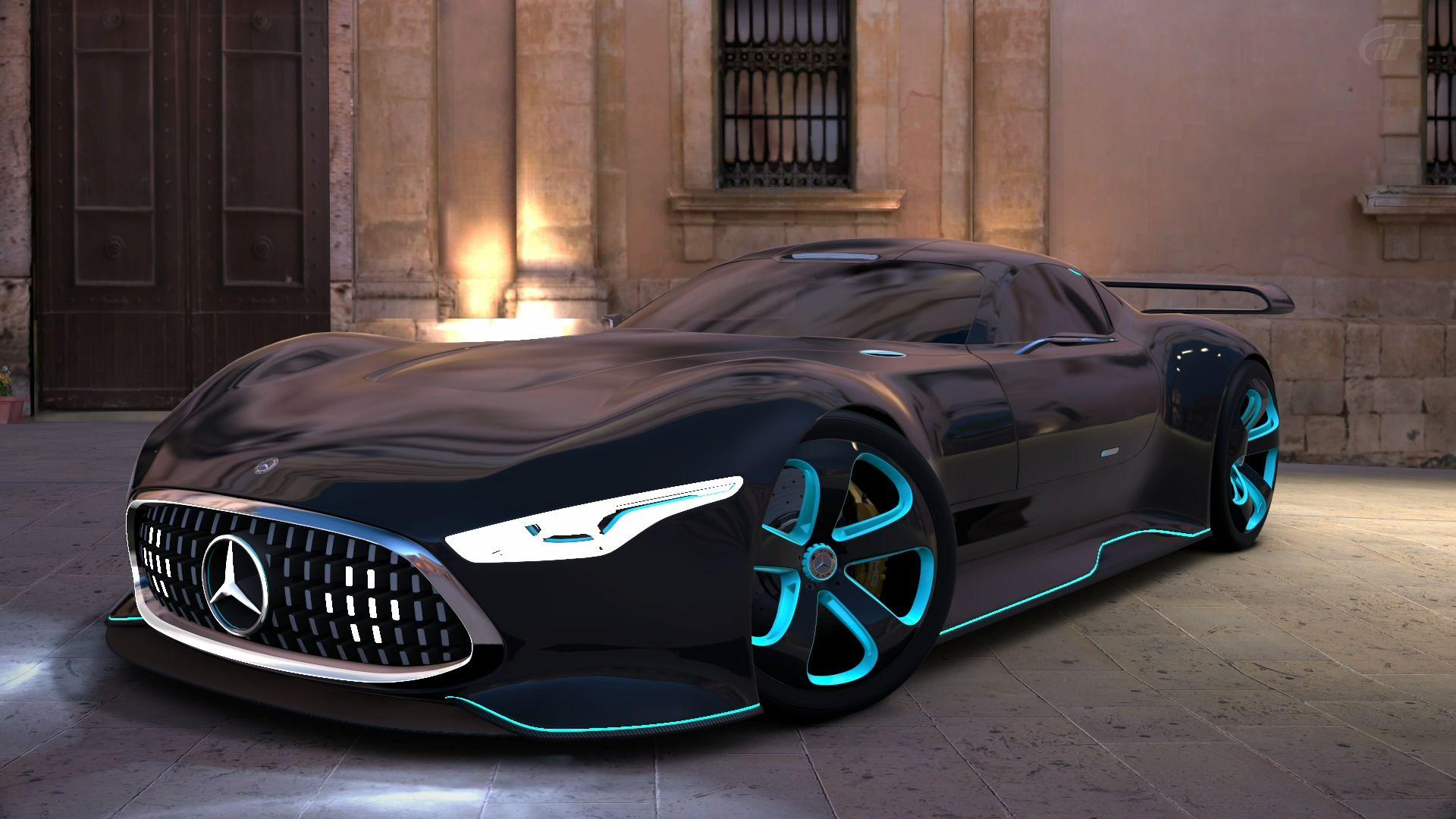 Gran Turismo 6 mercedes benz amg vision GT by Chernandez2020 on