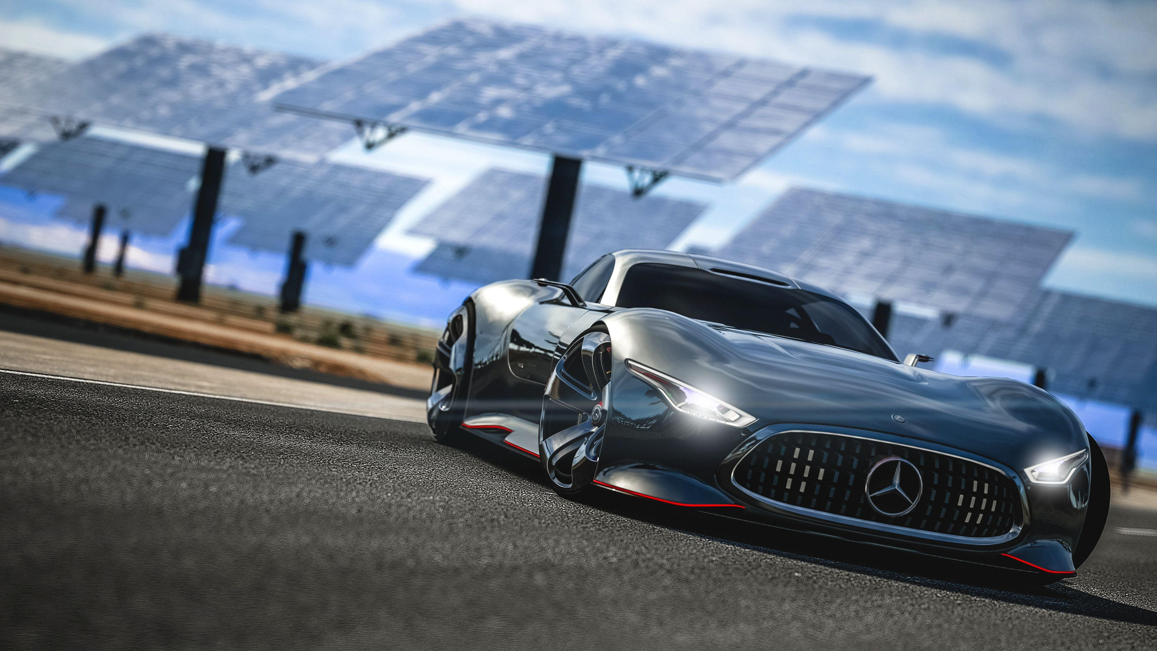 Mercedes Benz AMG Vision GT Wallpapers