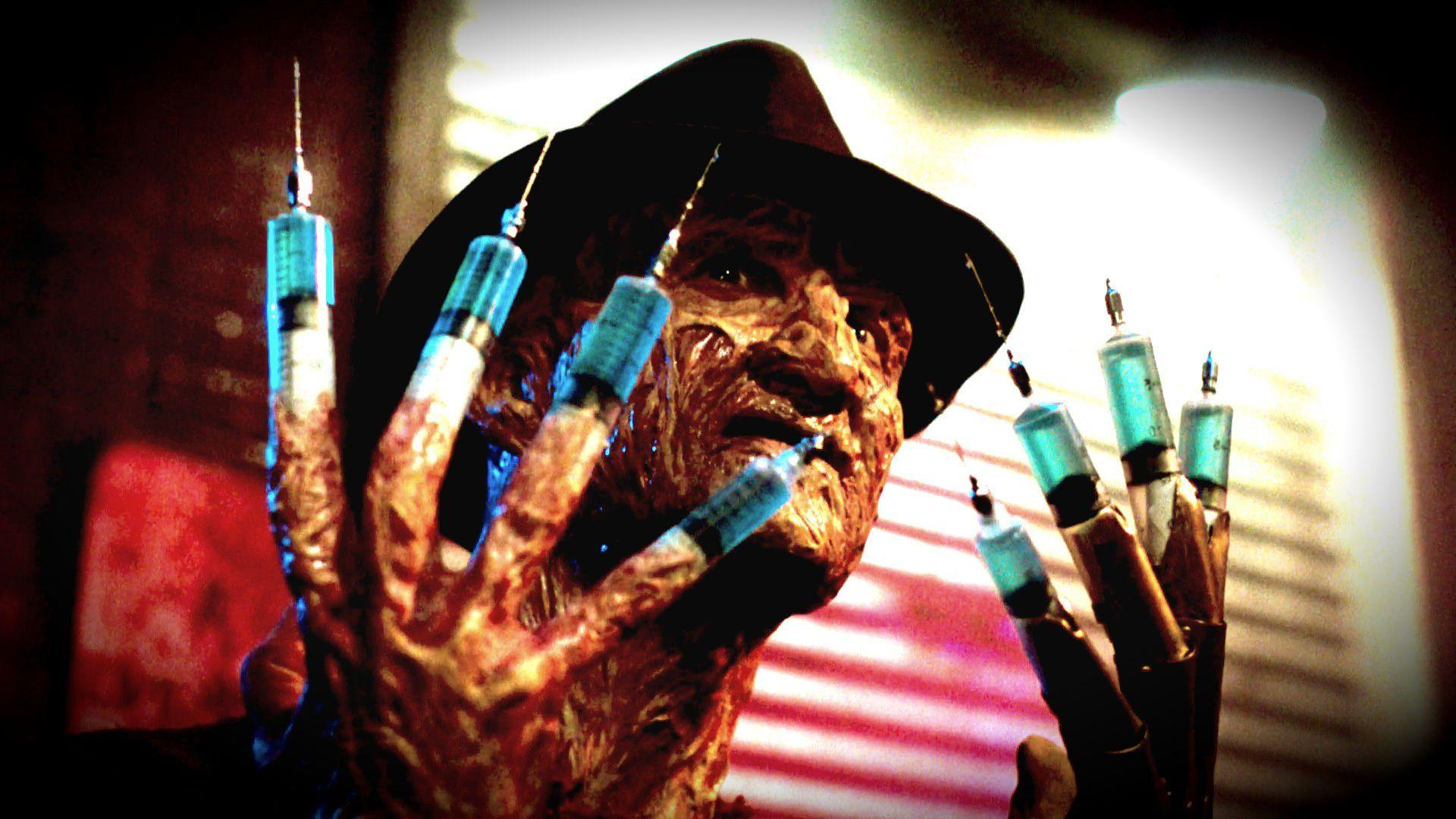 A NIGHTMARE ON ELM STREET dark horror thriller ey wallpapers