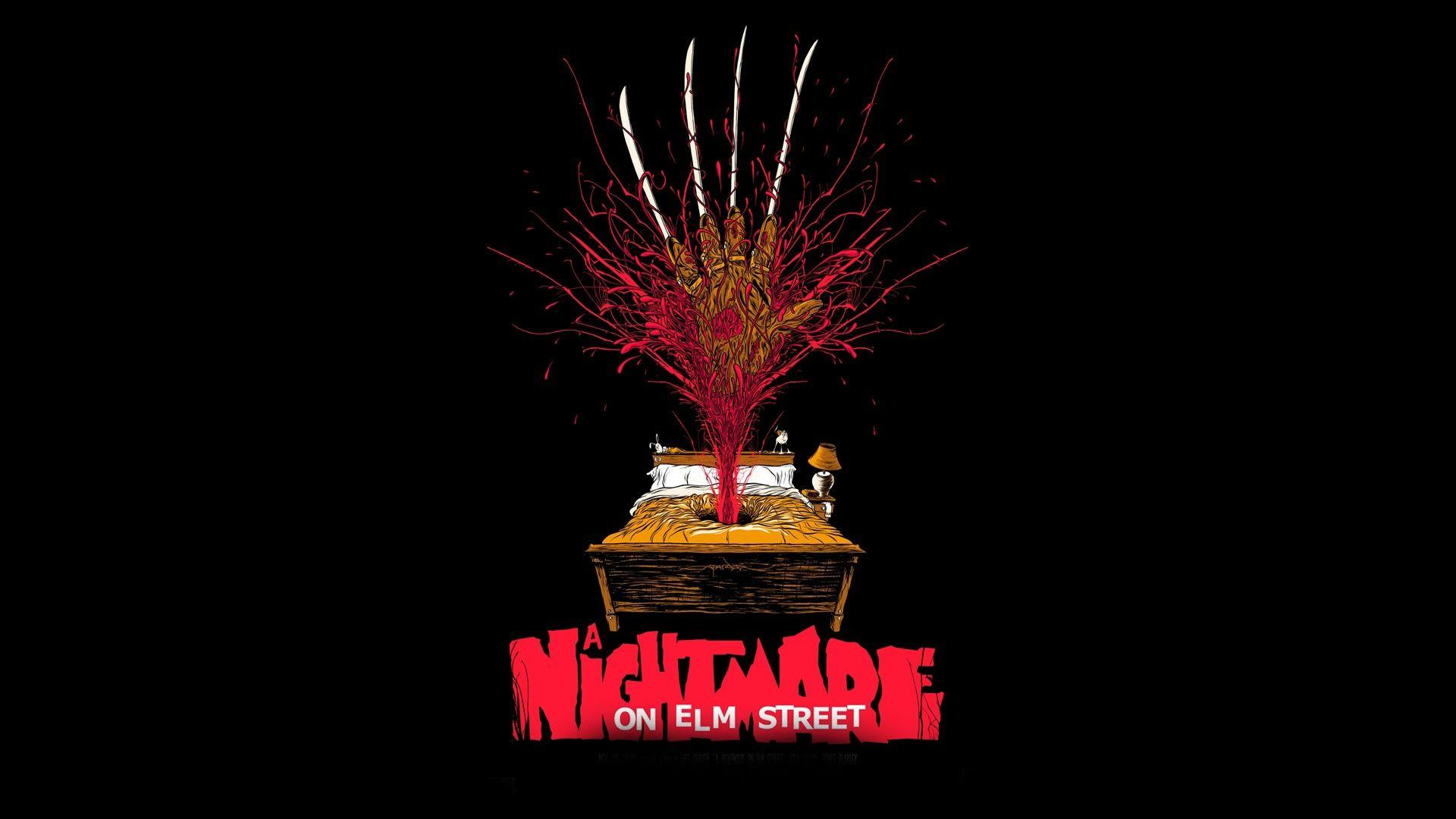 movies, A Nightmare On Elm Street, Artwork Wallpapers HD / Desktop