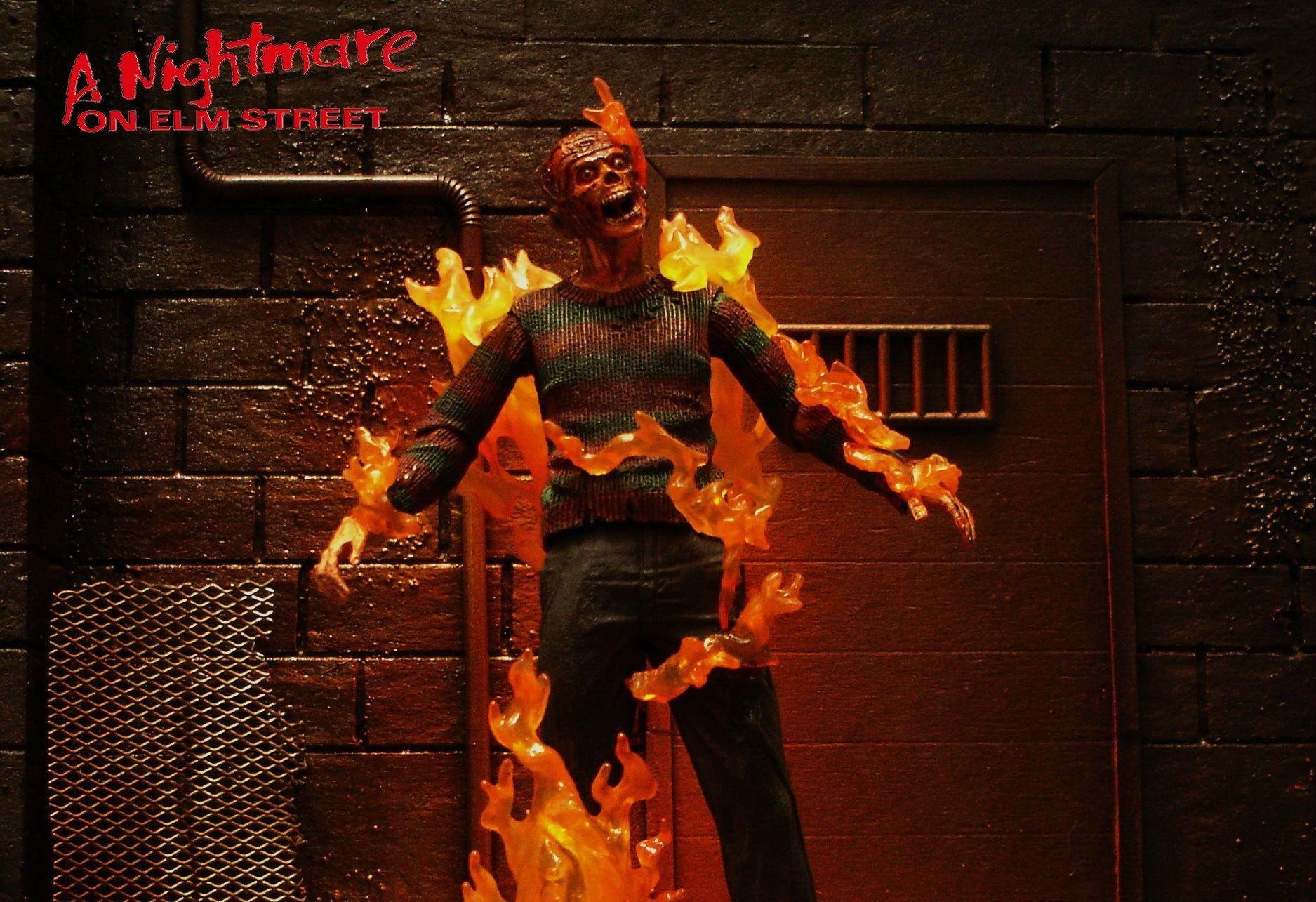 Nightmare elm street halloween dark horror movie film f wallpapers