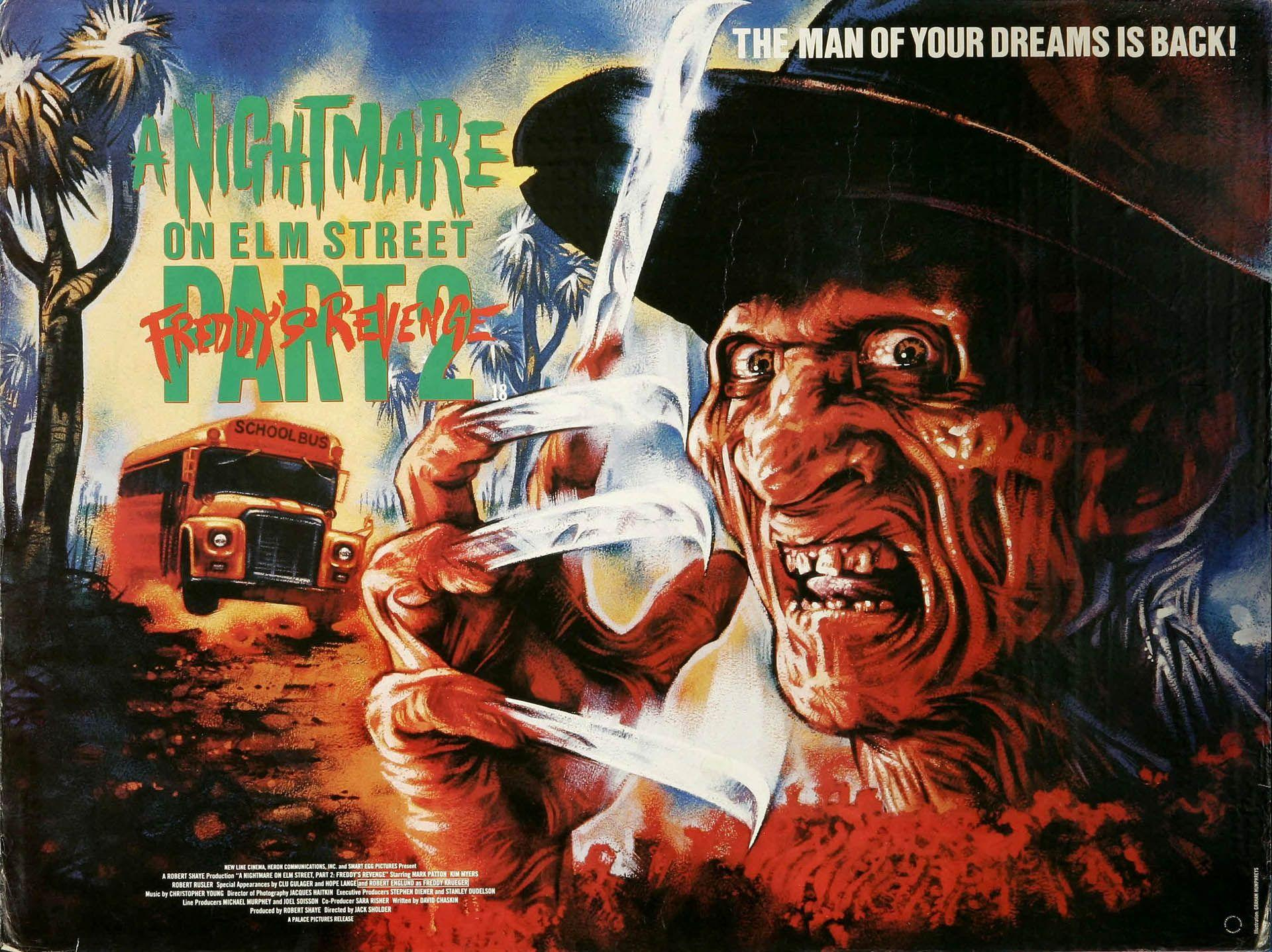 13 A Nightmare on Elm Street 2: Freddy's Revenge HD Wallpapers