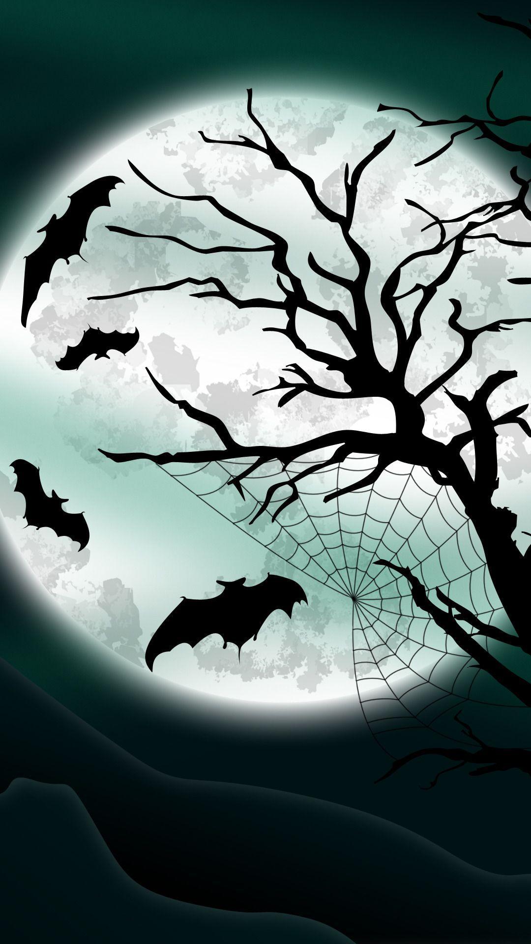 Halloween Bat Wallpapers Wallpaper Cave
