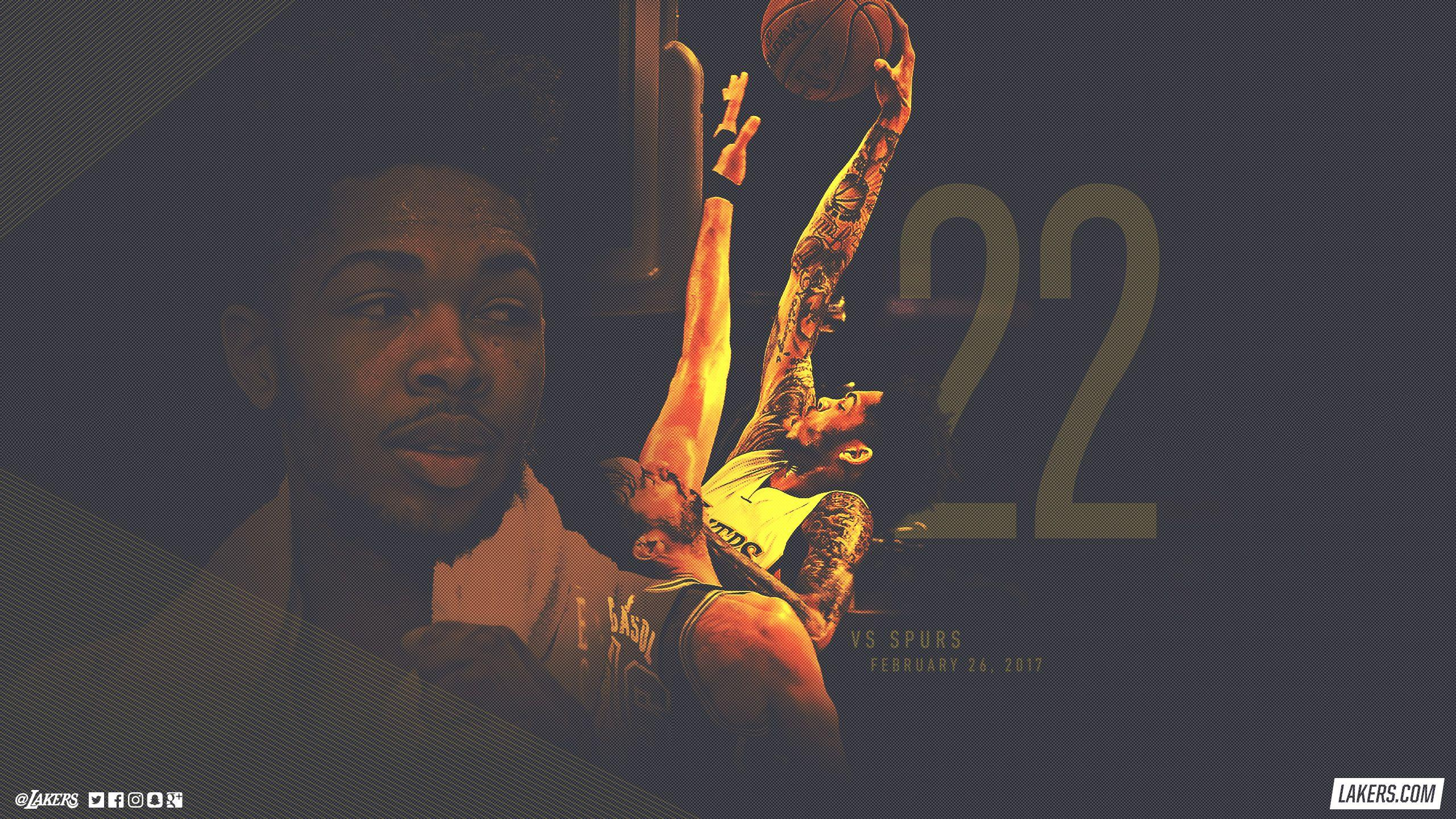 Lakers Wallpapers and Infographics