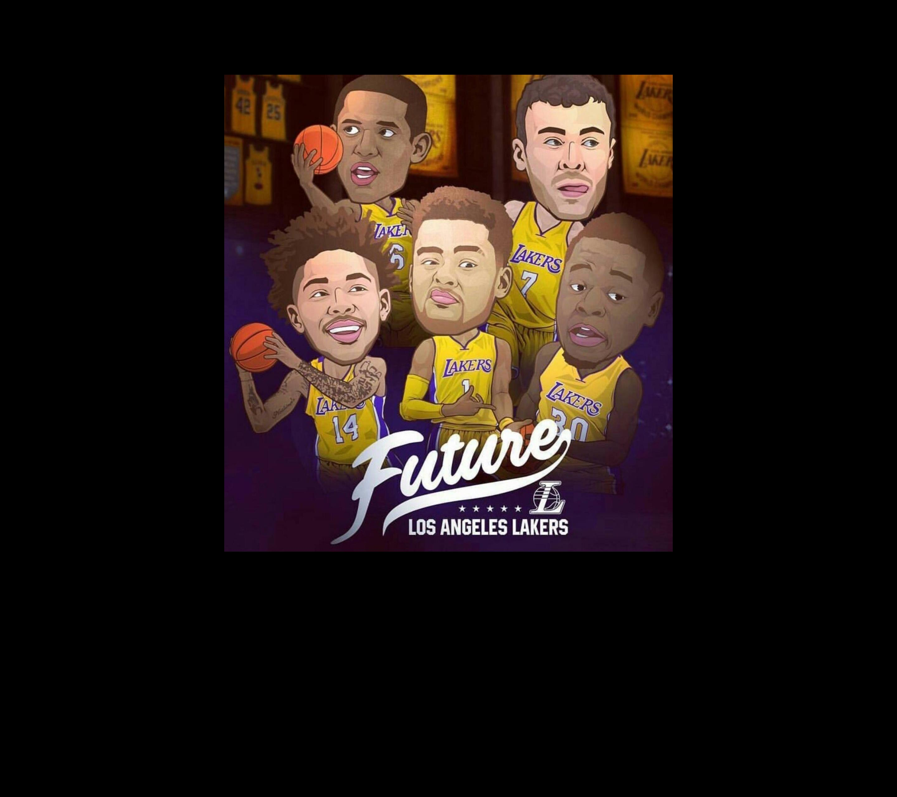 Future: mobile wallpapers version : lakers