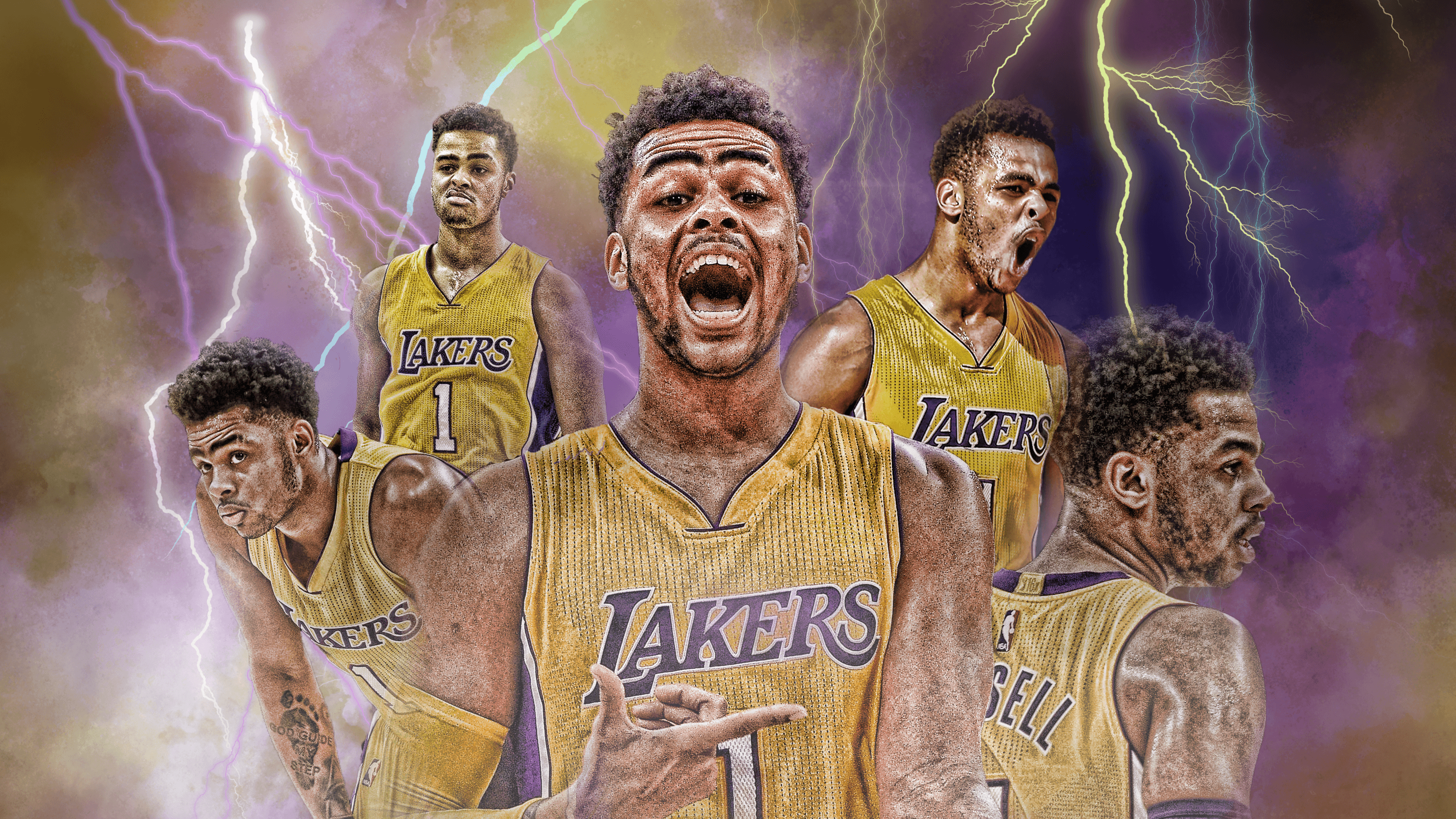 D'Angelo Russel Thunder Wallpapers