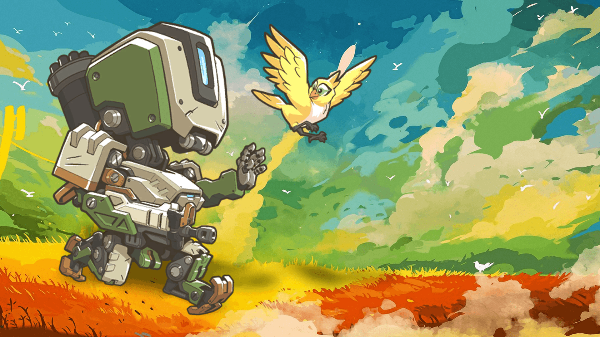 Overwatch Wallpaper Dual Monitor: Bastion Overwatch Wallpapers