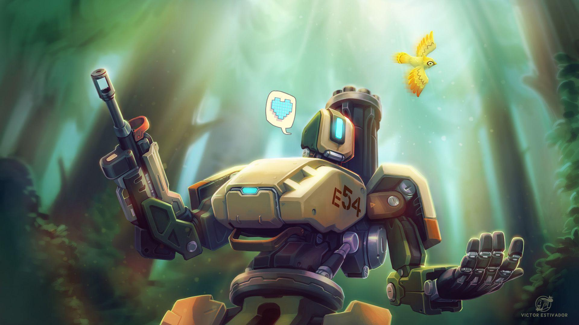 Bastion overwatch wallpapers wallpaper cave - Bastion wallpaper ...