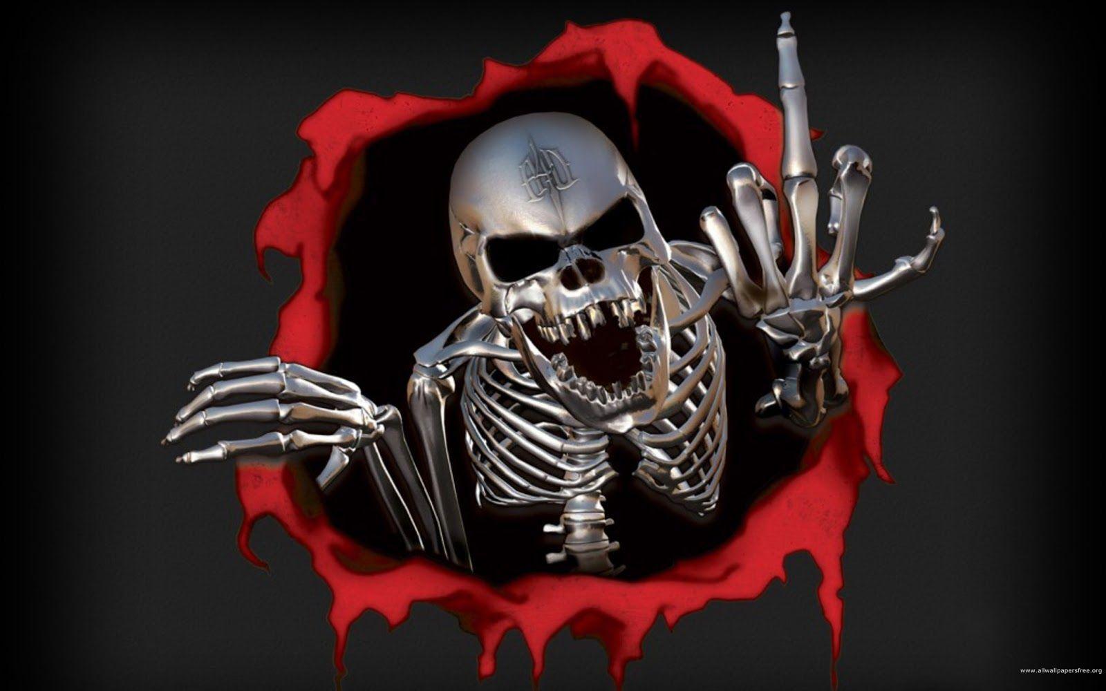 Halloween Skeleton Wallpaper.Ghost Skull Wallpapers Wallpaper Cave