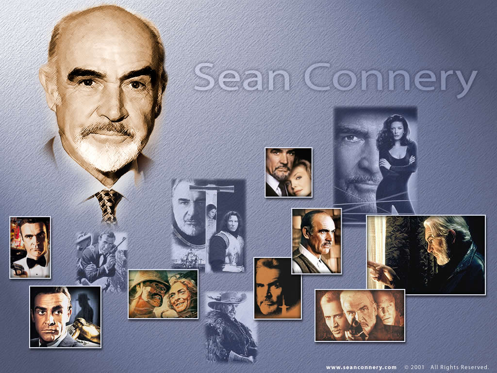 The Official Website of Sir Sean Connery - Wallpaper