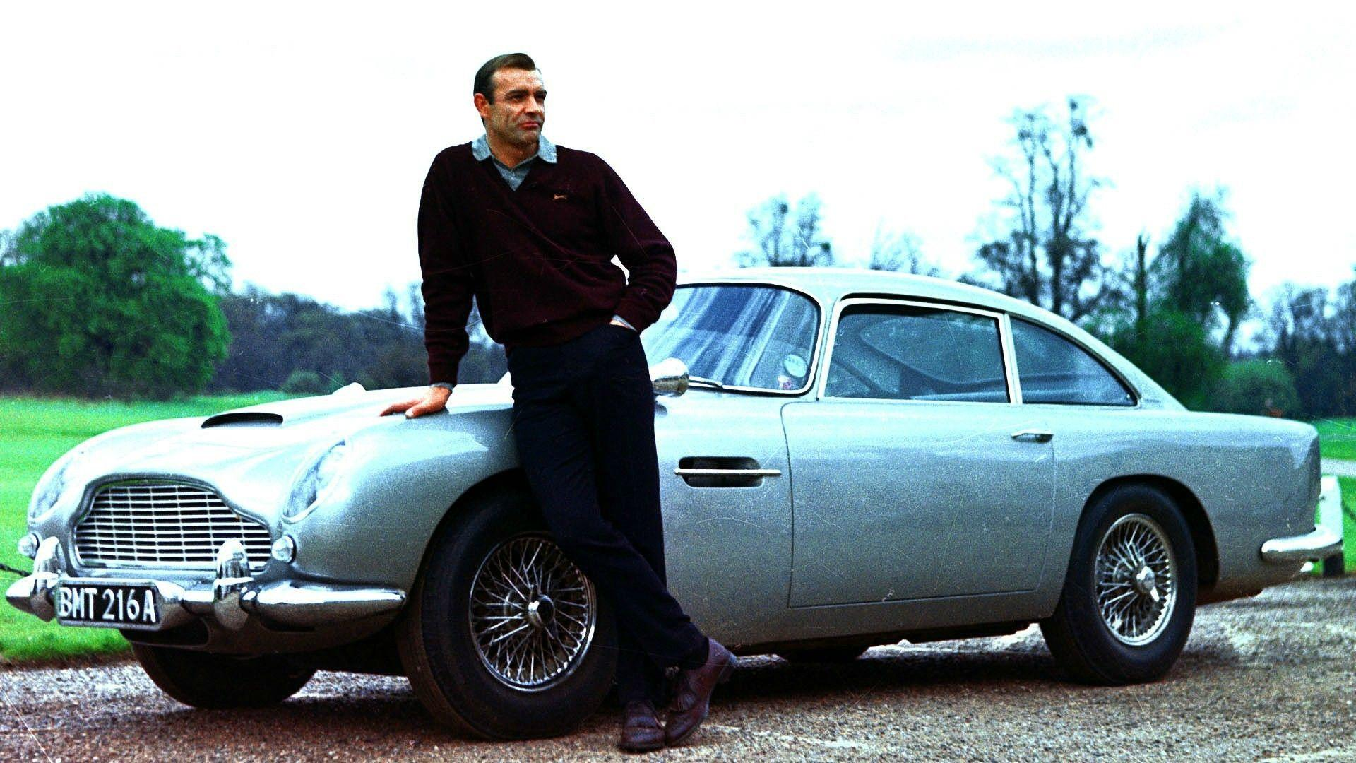 movies sean connery james bond car aston martin db5 007 Wallpapers ...