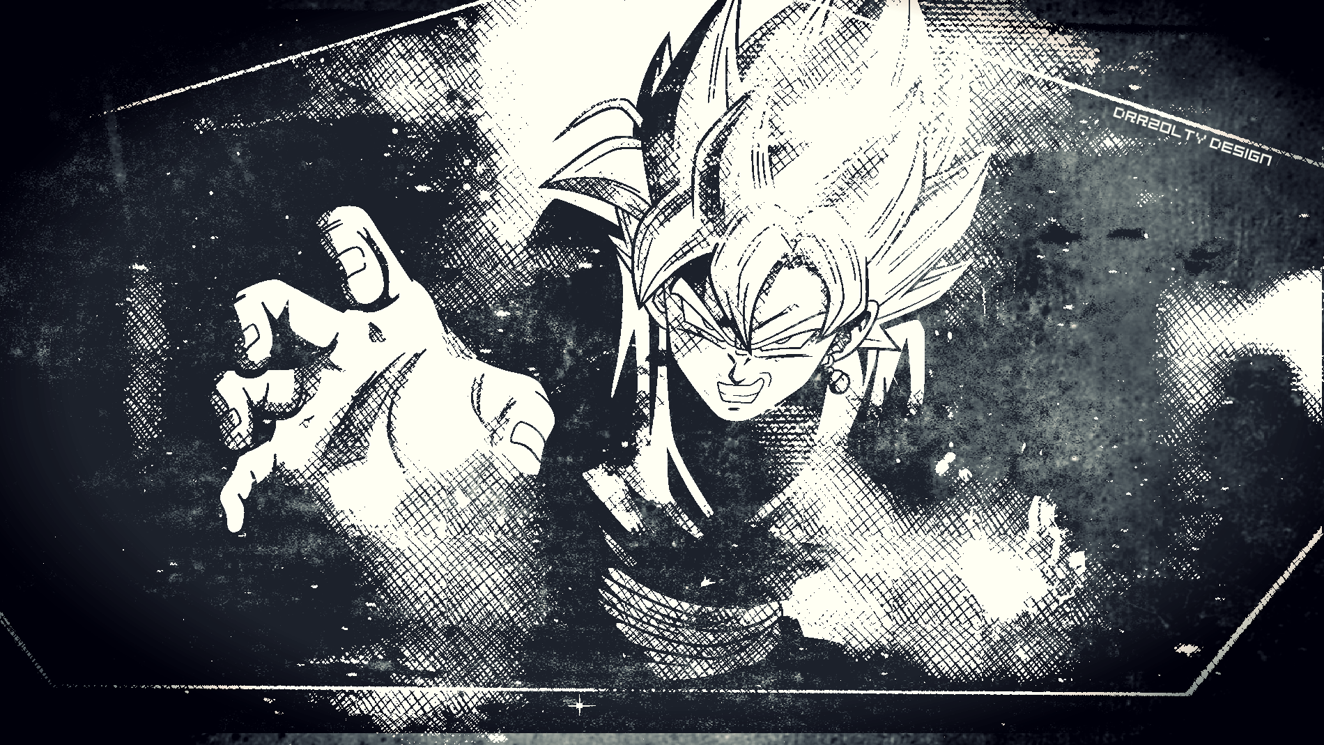 Black Goku Wallpapers Wallpaper Cave
